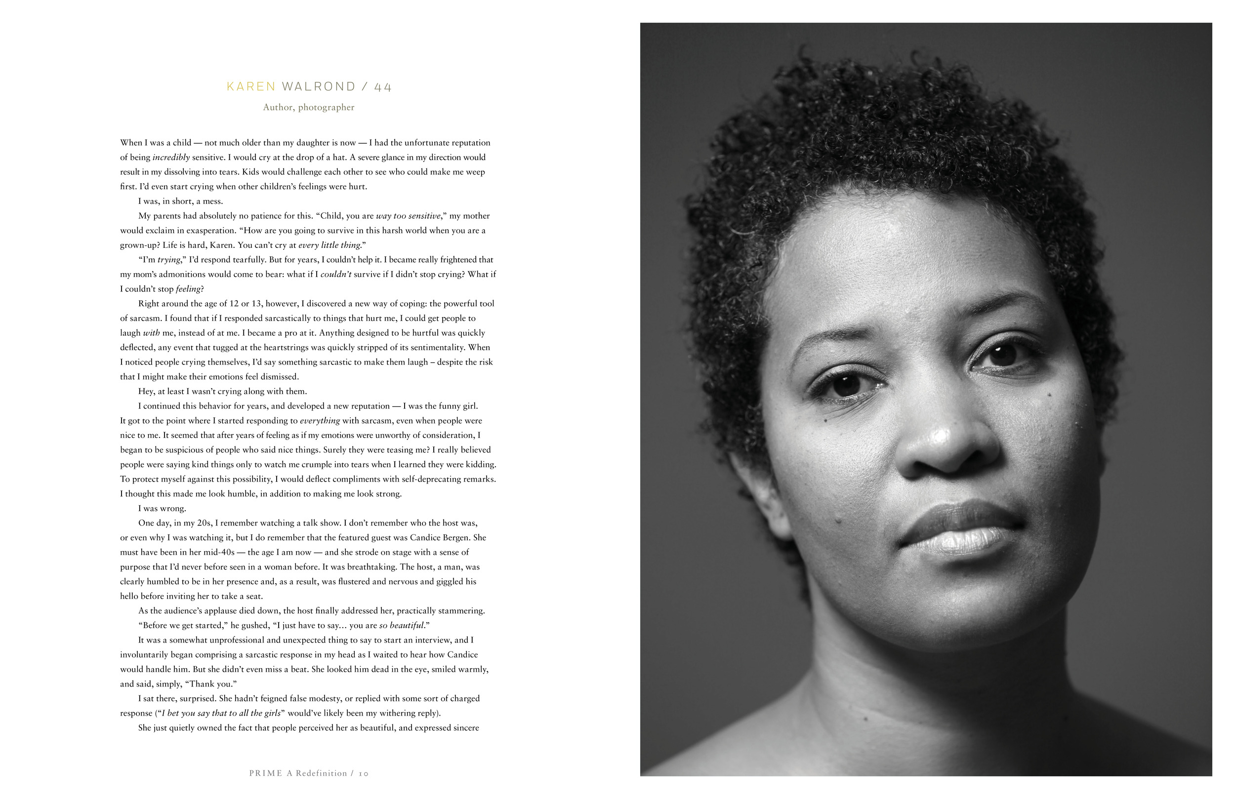 Karen Walrond, featured in The Prime Book