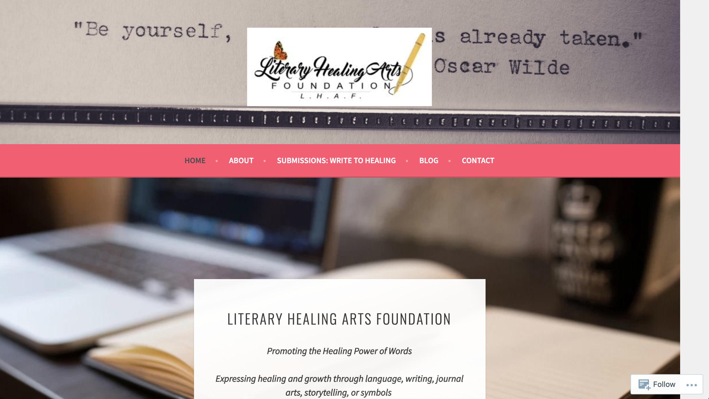 Old Literary Healing Arts Homepage