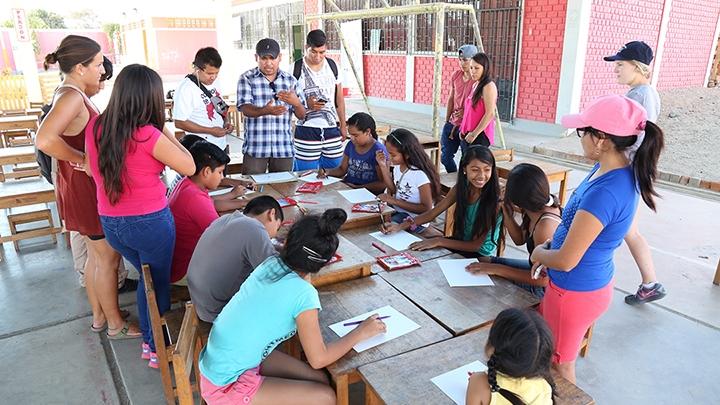 TEENS AT CASA GENERACION