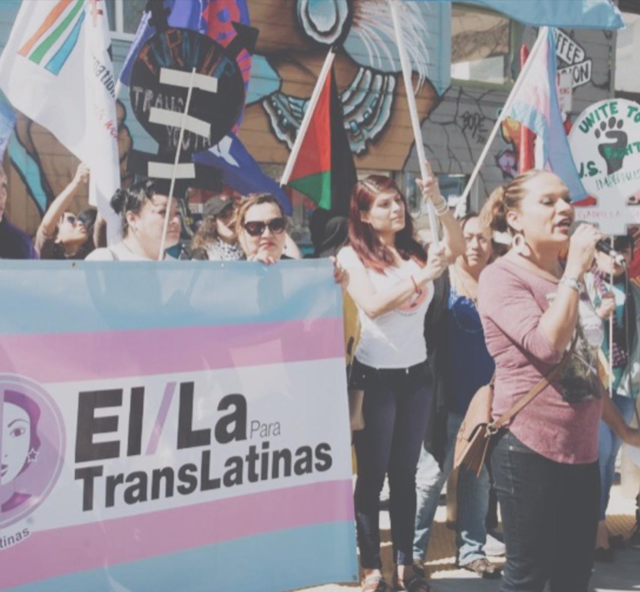 El/la para translatinas - San Francisco, CaliforniaSeptember 2019