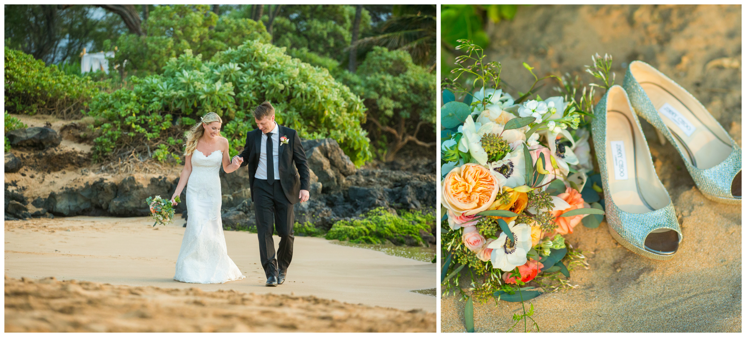 Romantic Maui Wedding Photography Coral Weddings