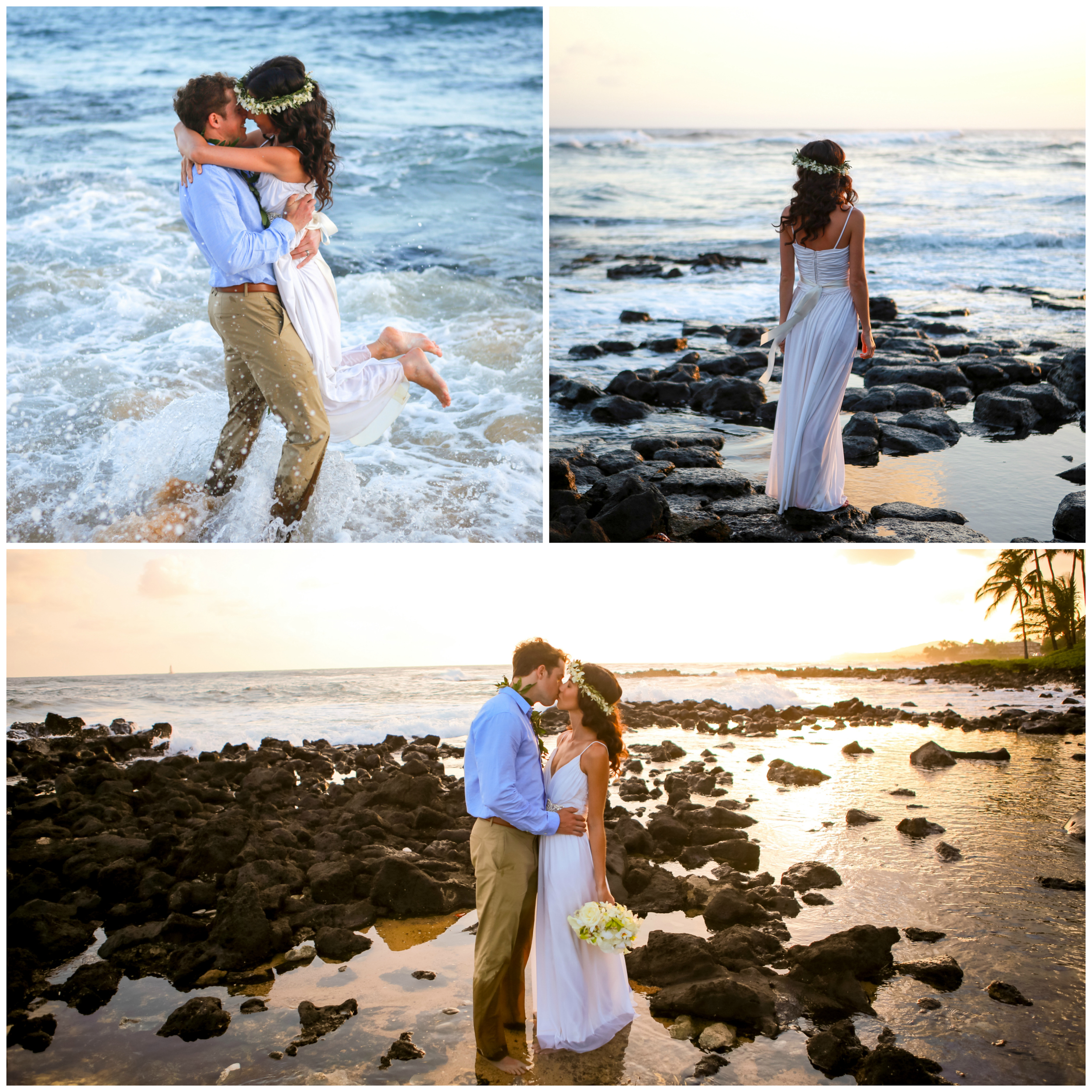 Hawaii Beach Wedding Photography Coral Weddings
