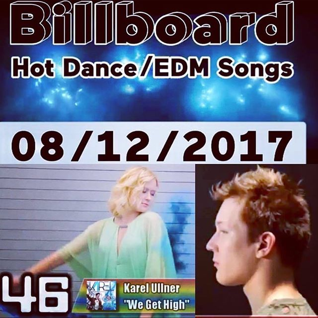 In August of last year #wegethigh made the #billboarddance charts. Tomorrow our new EP is out world wide! Check the #itunes store and #preorder the @karelxojani EP today to find out what's coming 😁
