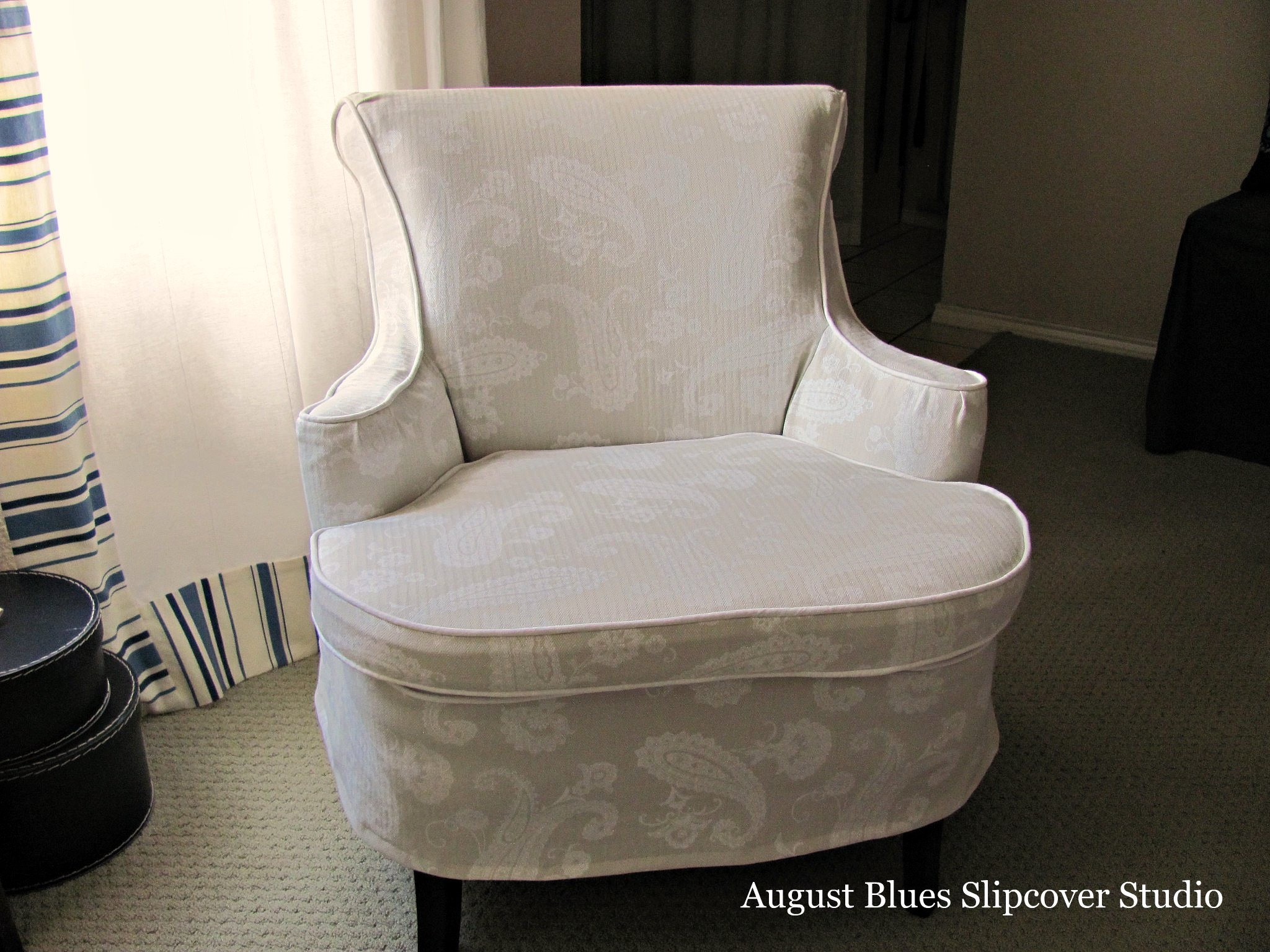 August Blues - Curvy Chair After