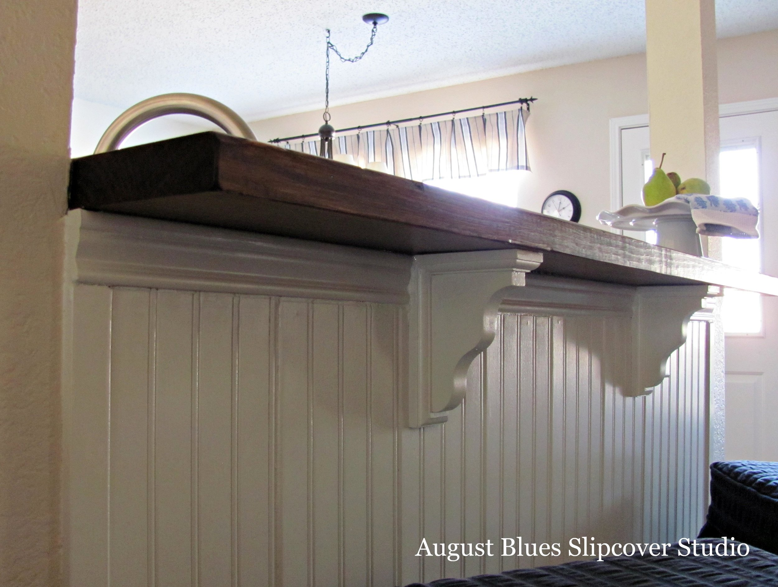 August Blues - Breakfast Bar Brackets