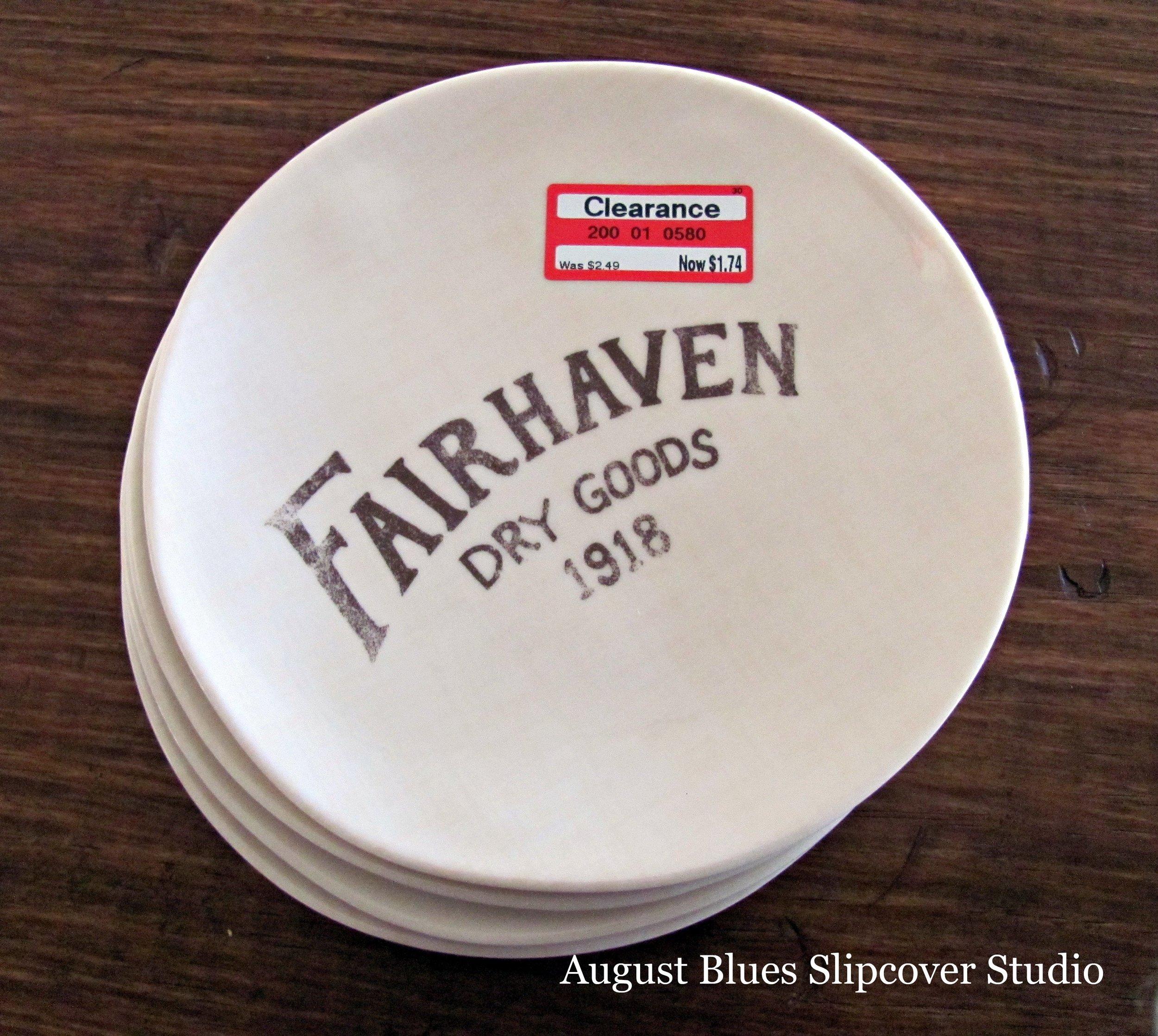 August Blues - Plates