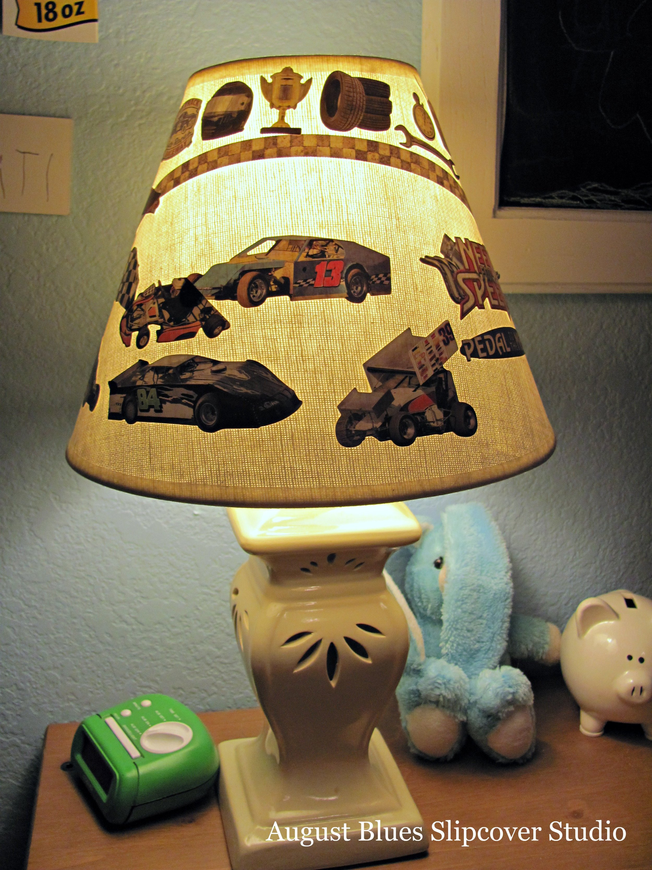 August Blues - Sticker Lamp