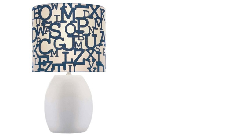 August Blues - Alphabet Lamp from Joss & Main