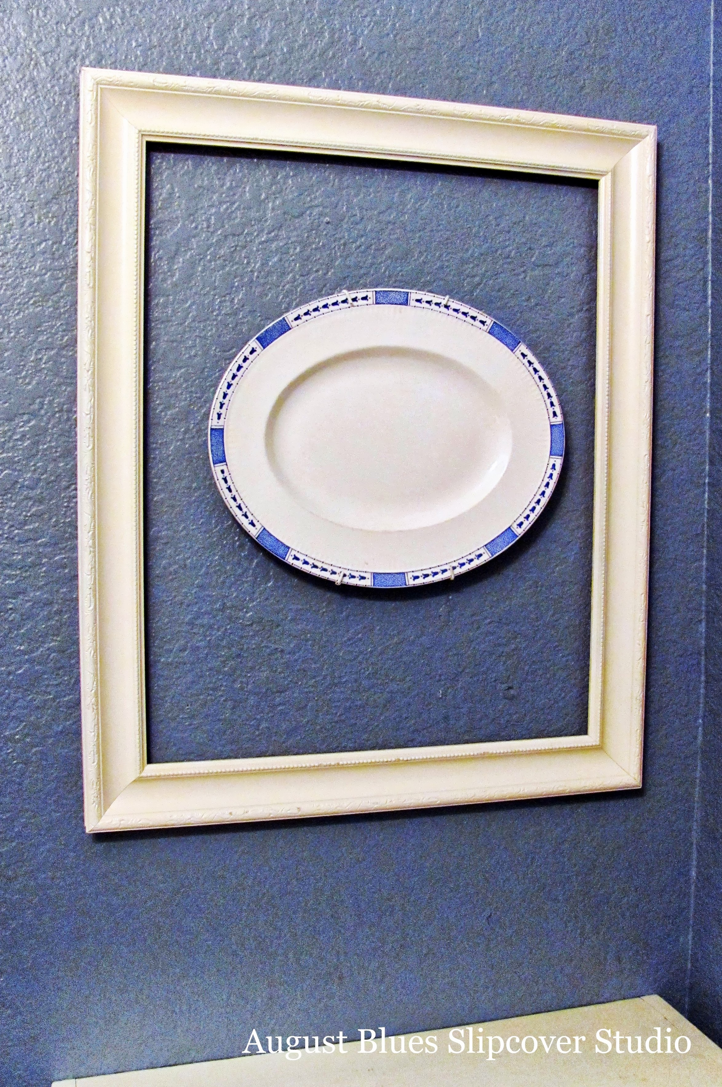 August Blues - Frame and Plate