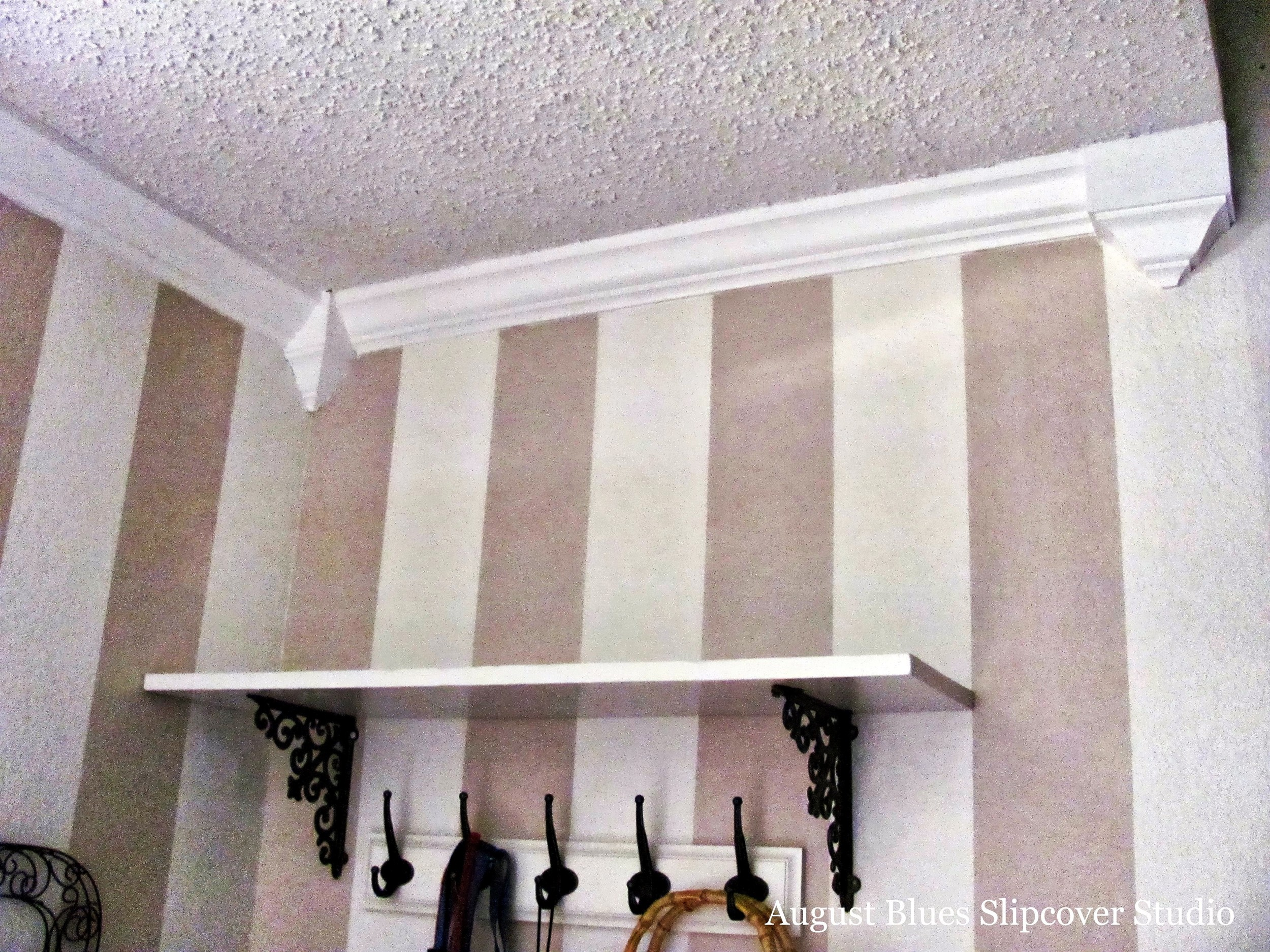 August Blues - Crown Molding