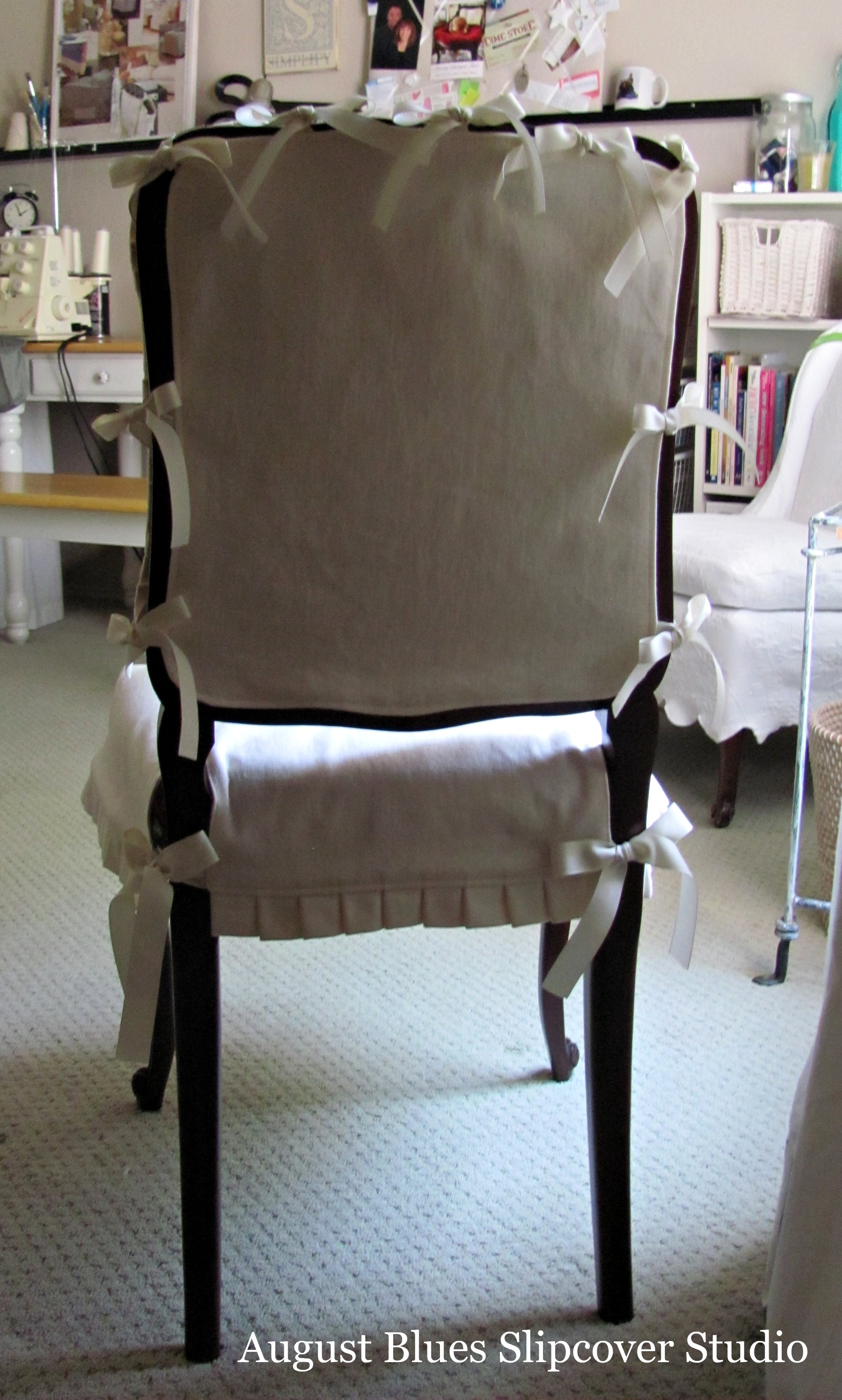 August Blues - Dining Chair Back