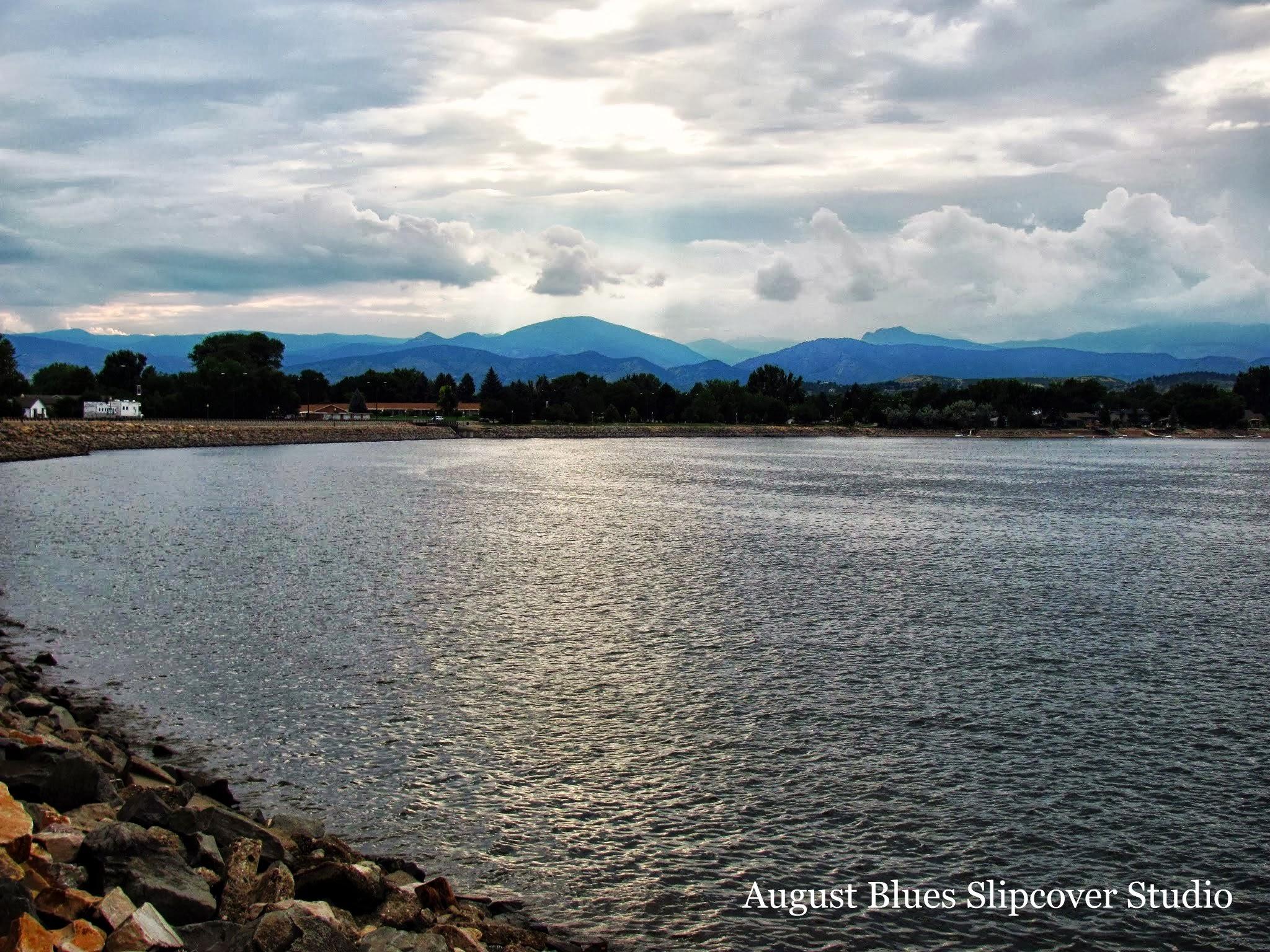 August Blues - Colorado Lake