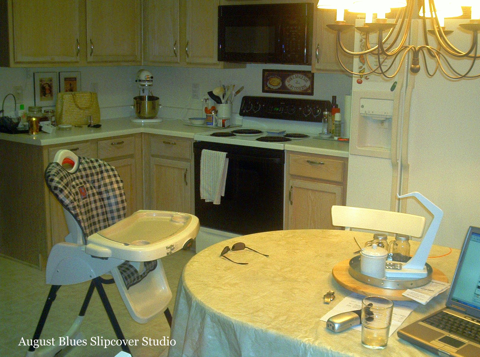 August Blues - Kitchen Before