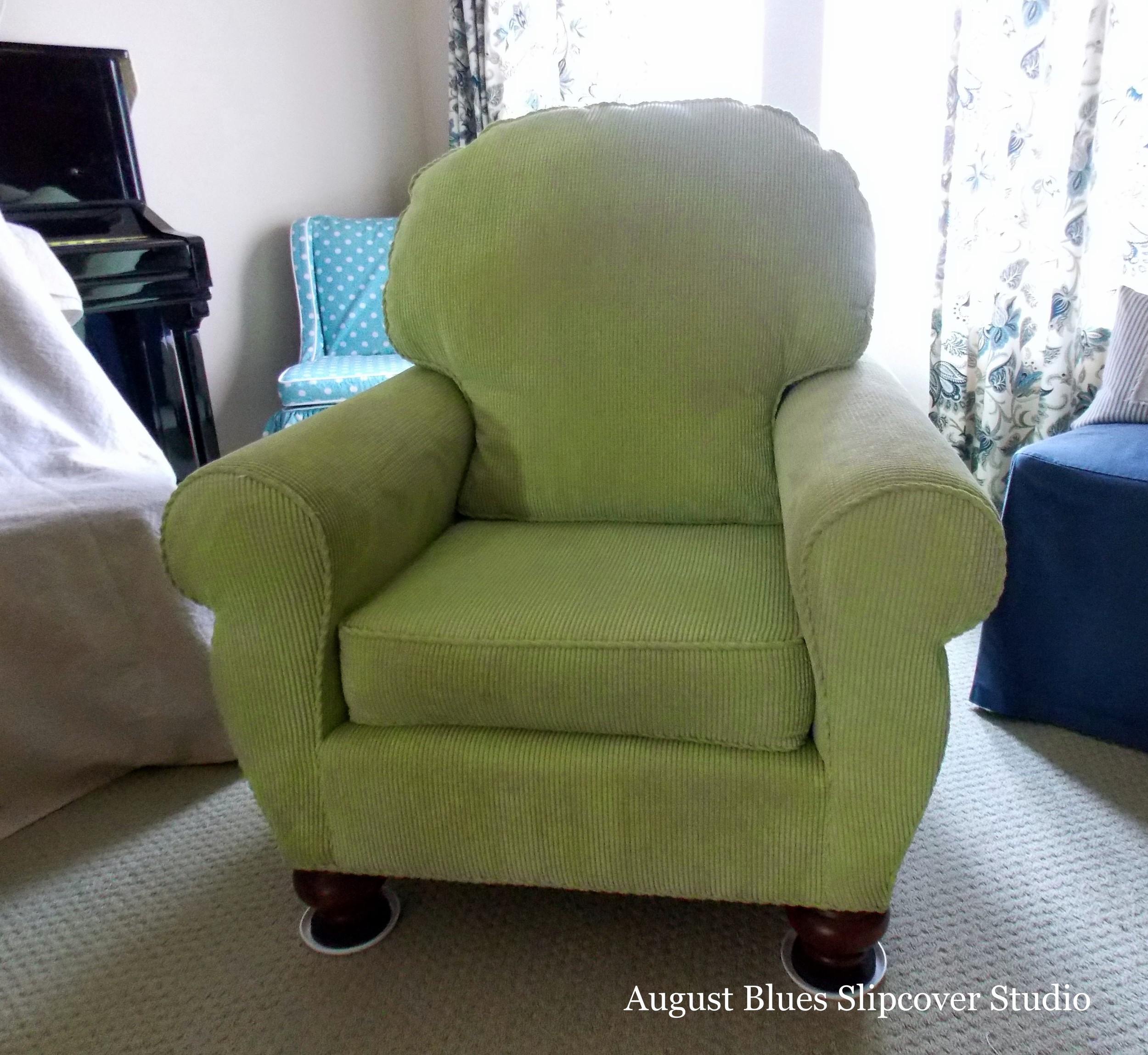 August Blues - Chair Before