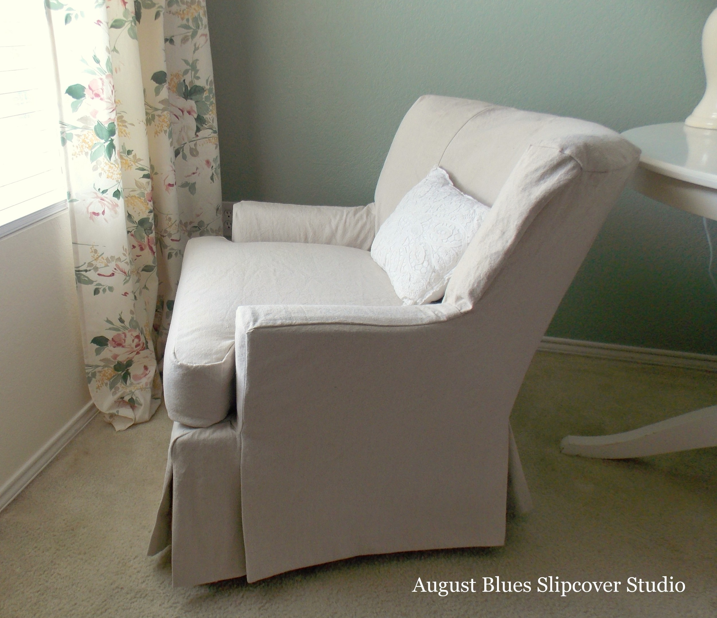 August Blues - Slipcover Side