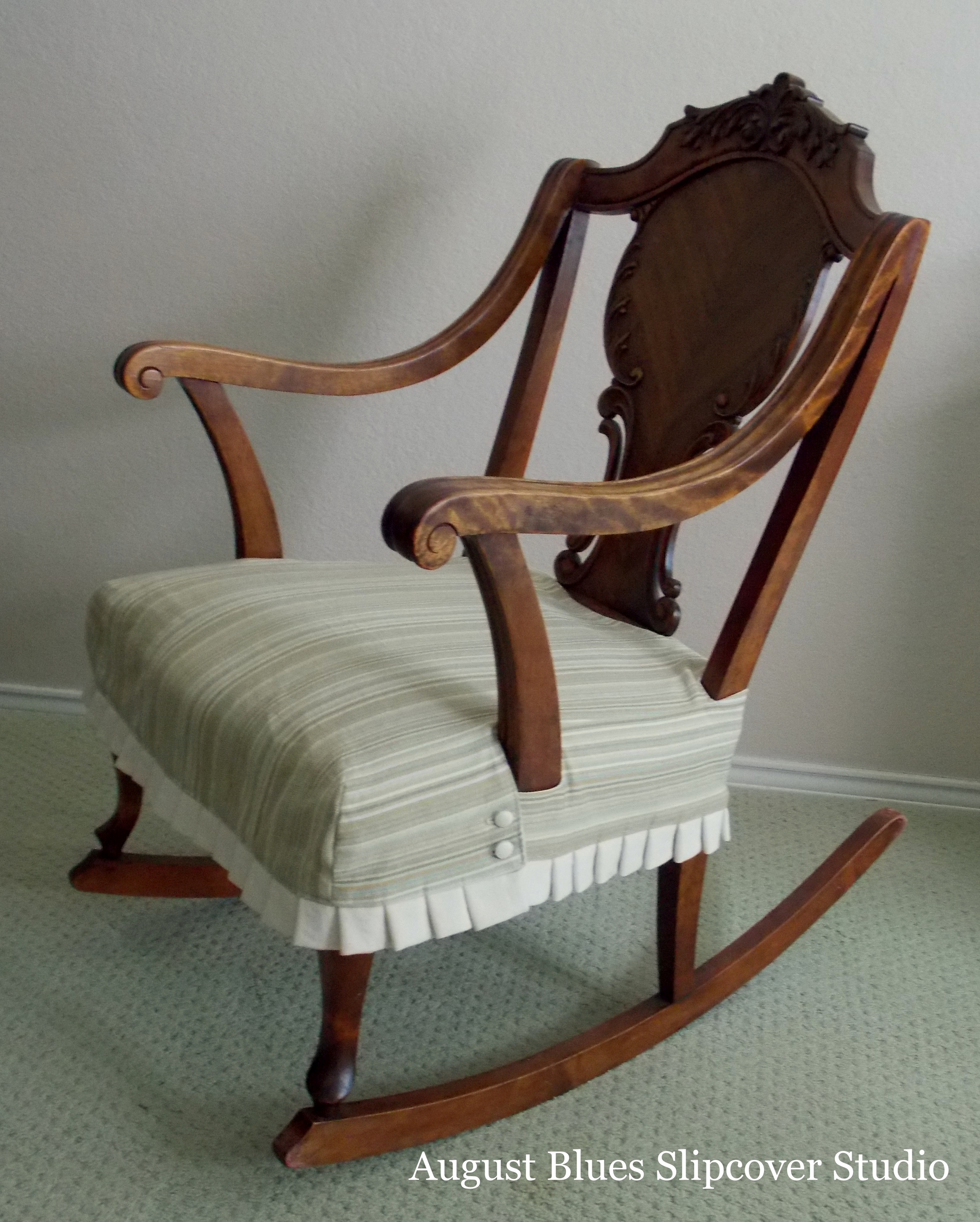 August Blues - Rocking Chair After