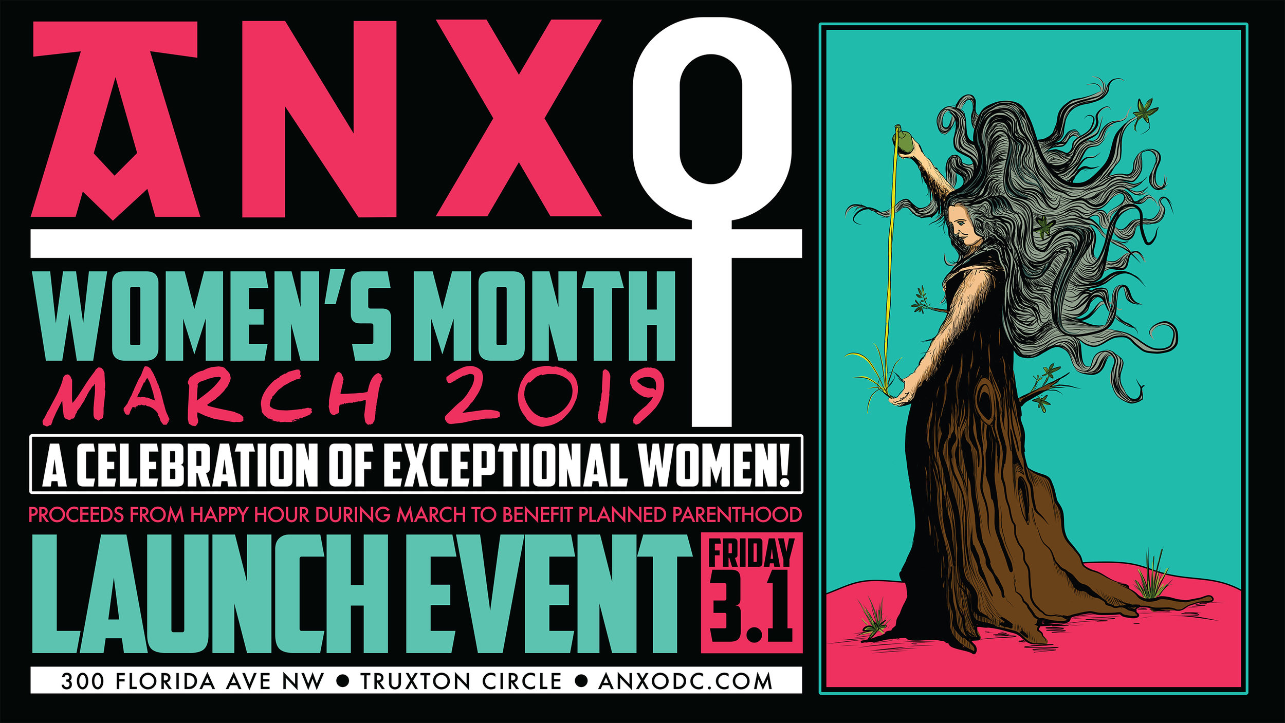 """WOMEN'S MONTH LAUNCH PARTY    FRIDAY, MARCH 15PM-11PM   All March we'll exclusively pour  ciders, wines, beers & cocktails from female owned/operated businesses.  Our collaborations  """"Nevertheless, We Persisted"""" Dry Cider  (Eden Specialty Ciders) and  """"Never Doubt"""" Brut IPA (Denizens Brewing Co) will debut on draft at the launch and proceeds from happy hour will be donated to our local Planned Parenthood chapter!"""