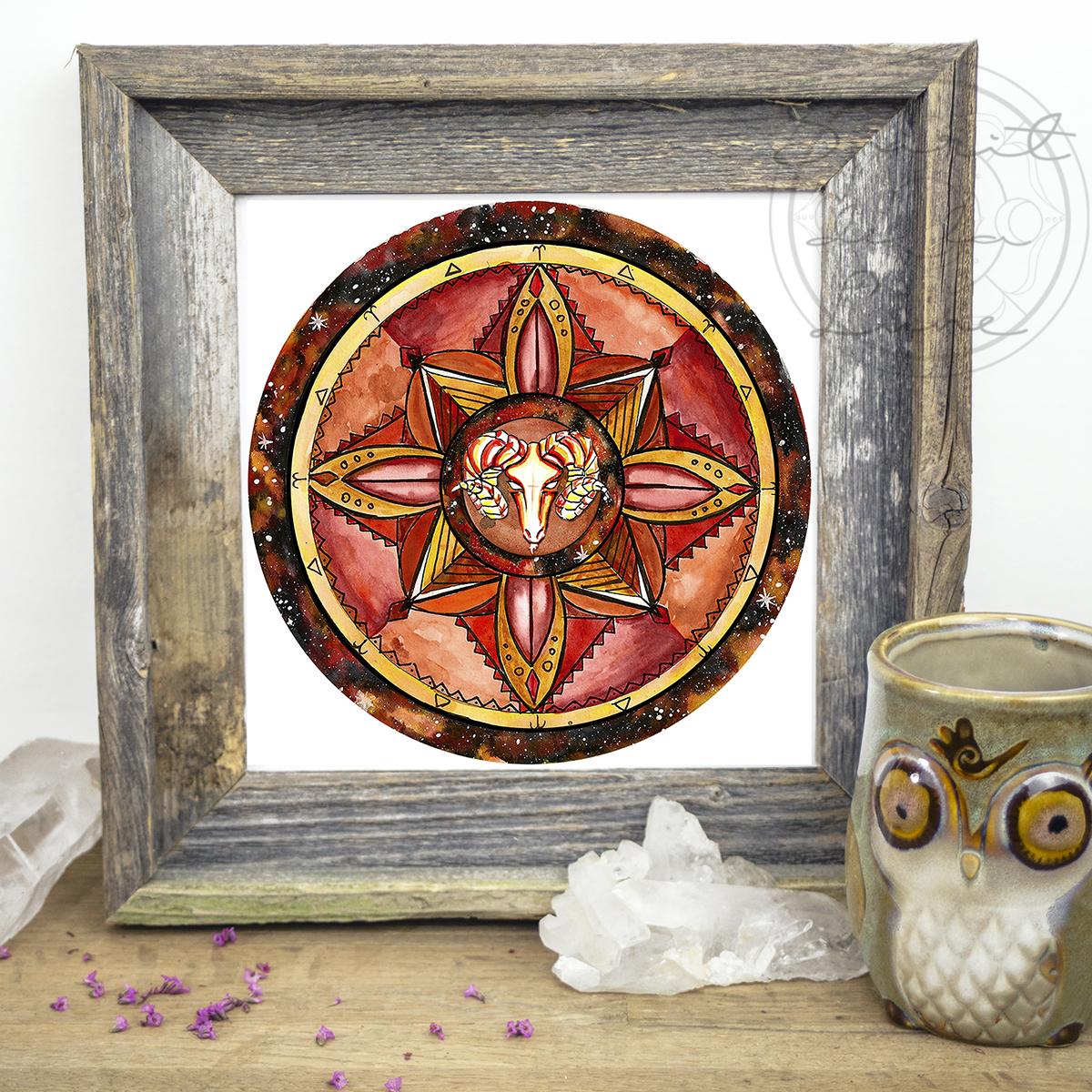 Aries Mandala | Spirit de la Lune