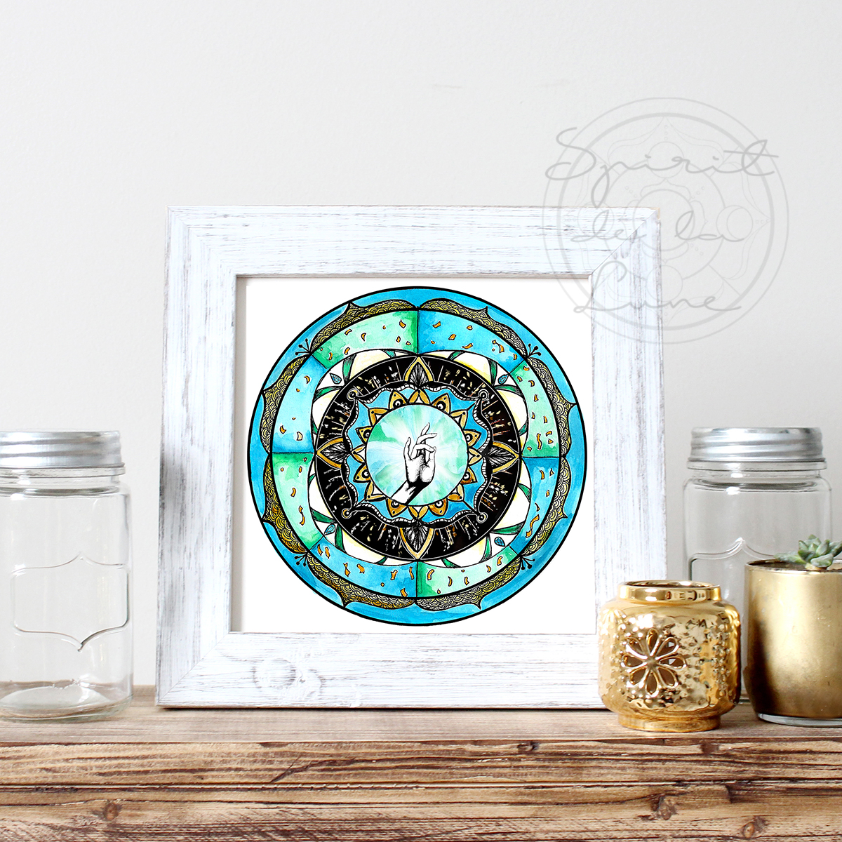 Blessing Moon Mandala | Spirit de la Lune