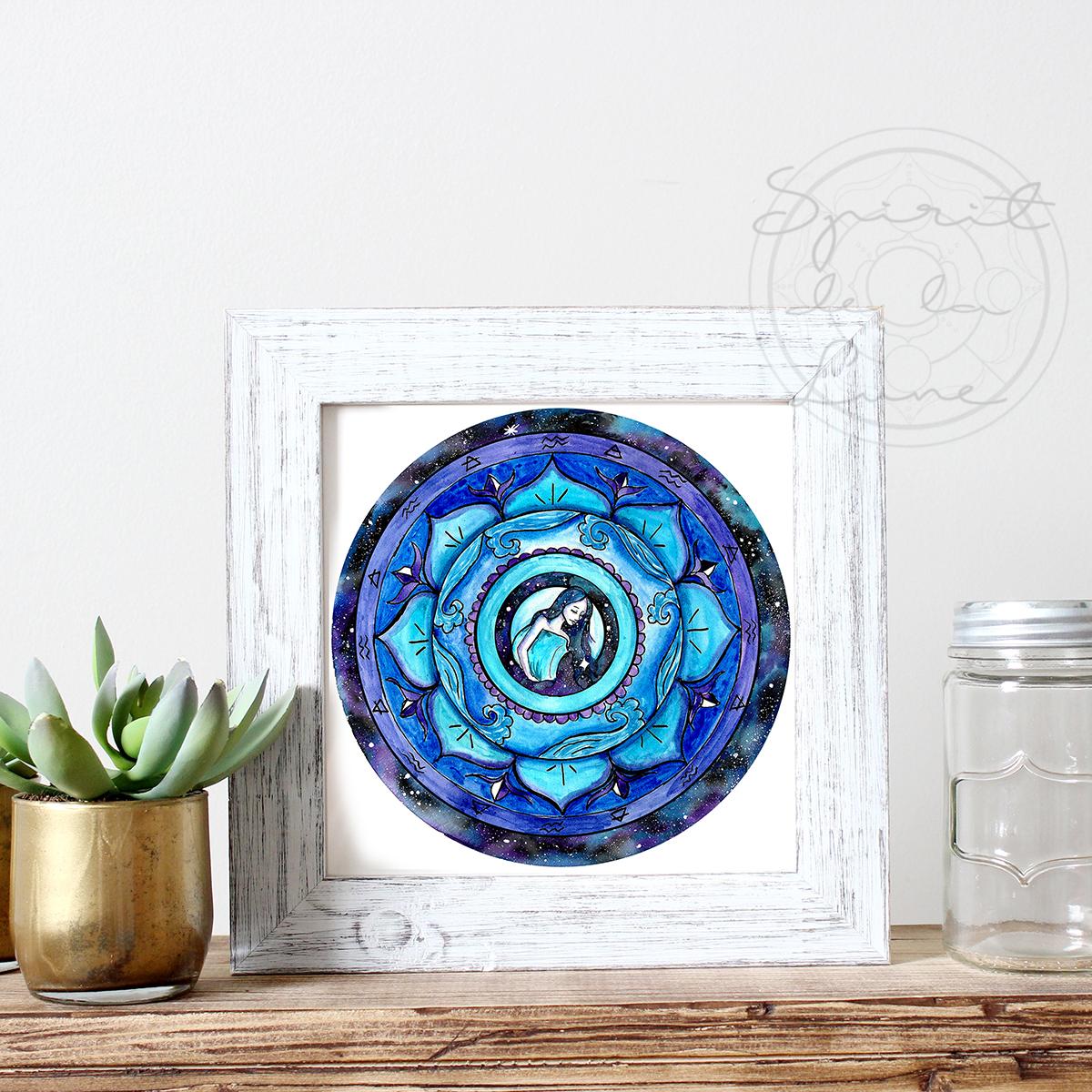 Aquarius Mandala | Spirit de la Lune