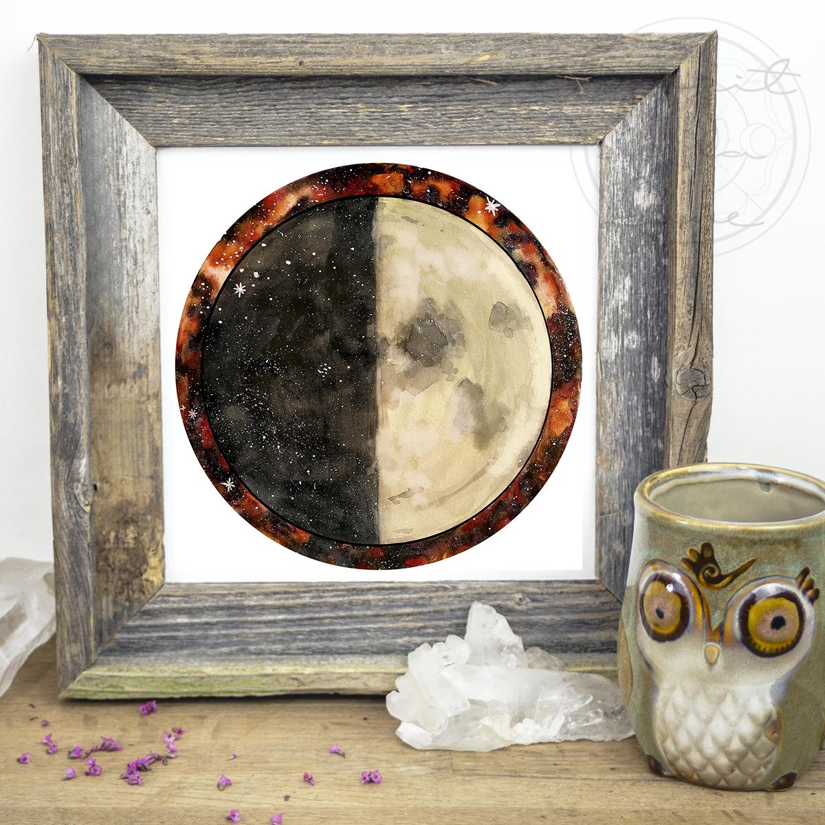 First Quarter Moon | Spirit de la Lune