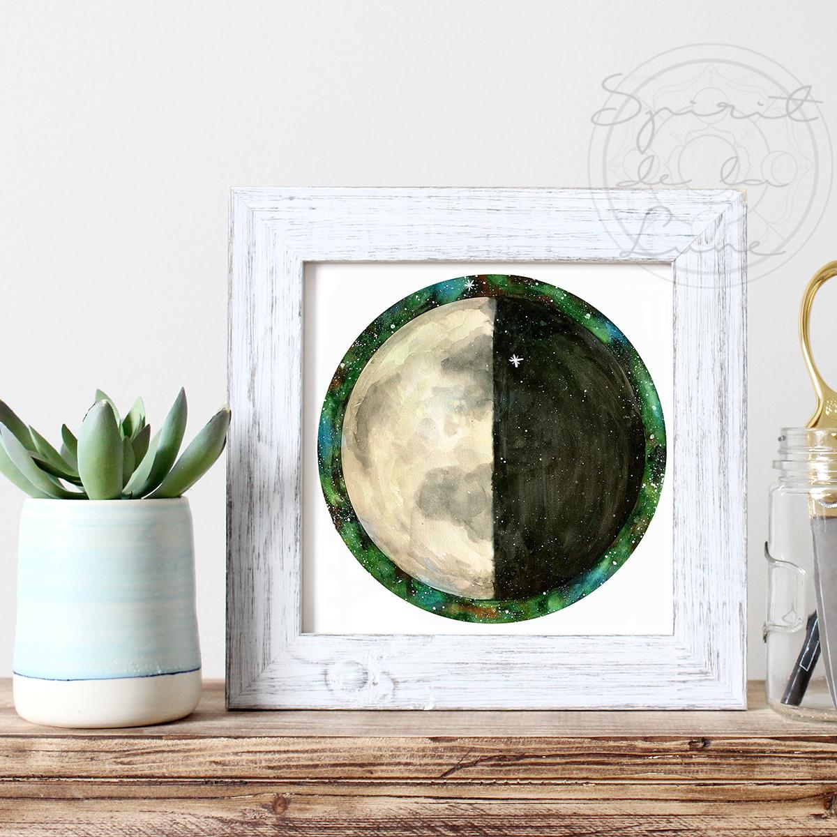 Second Quarter Moon | Spirit de la Lune