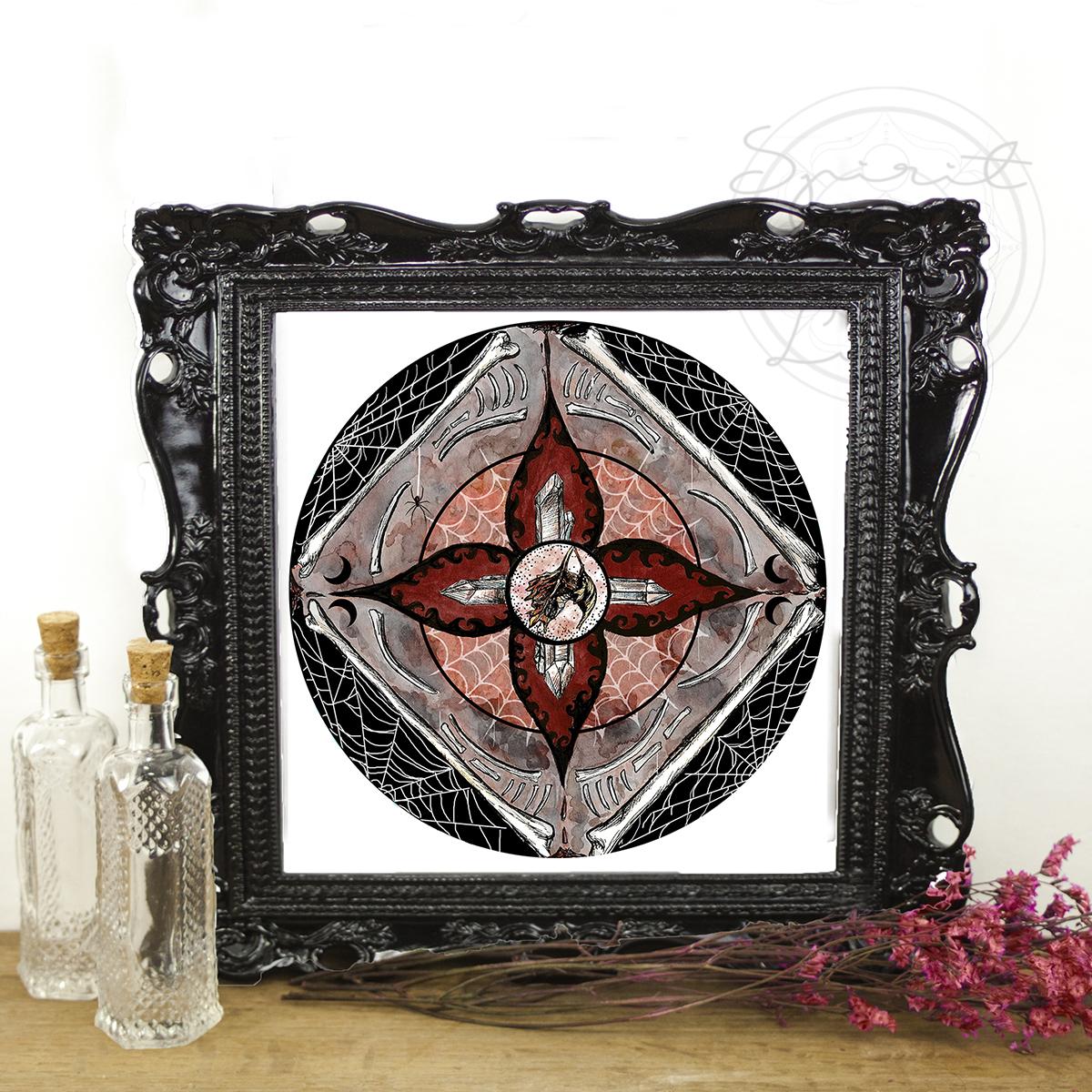 Blood Moon Mandala | Spirit de la Lune