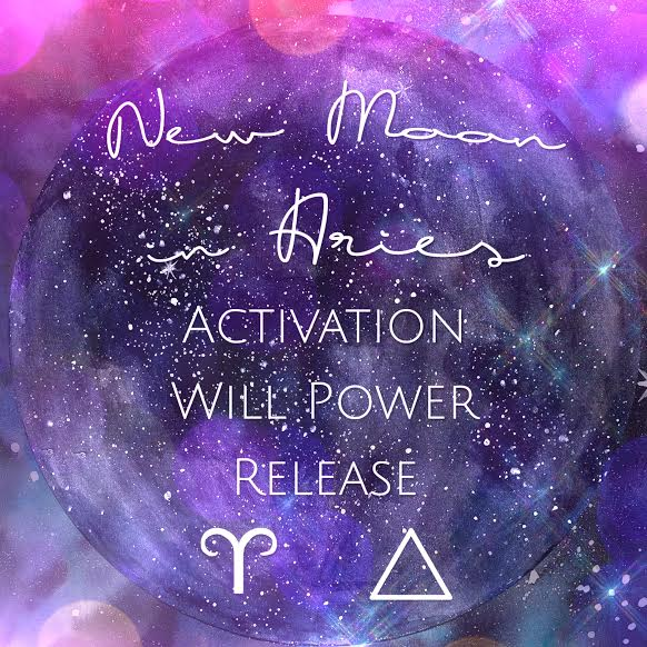 New Moon In Aries | Spirit de la Lune