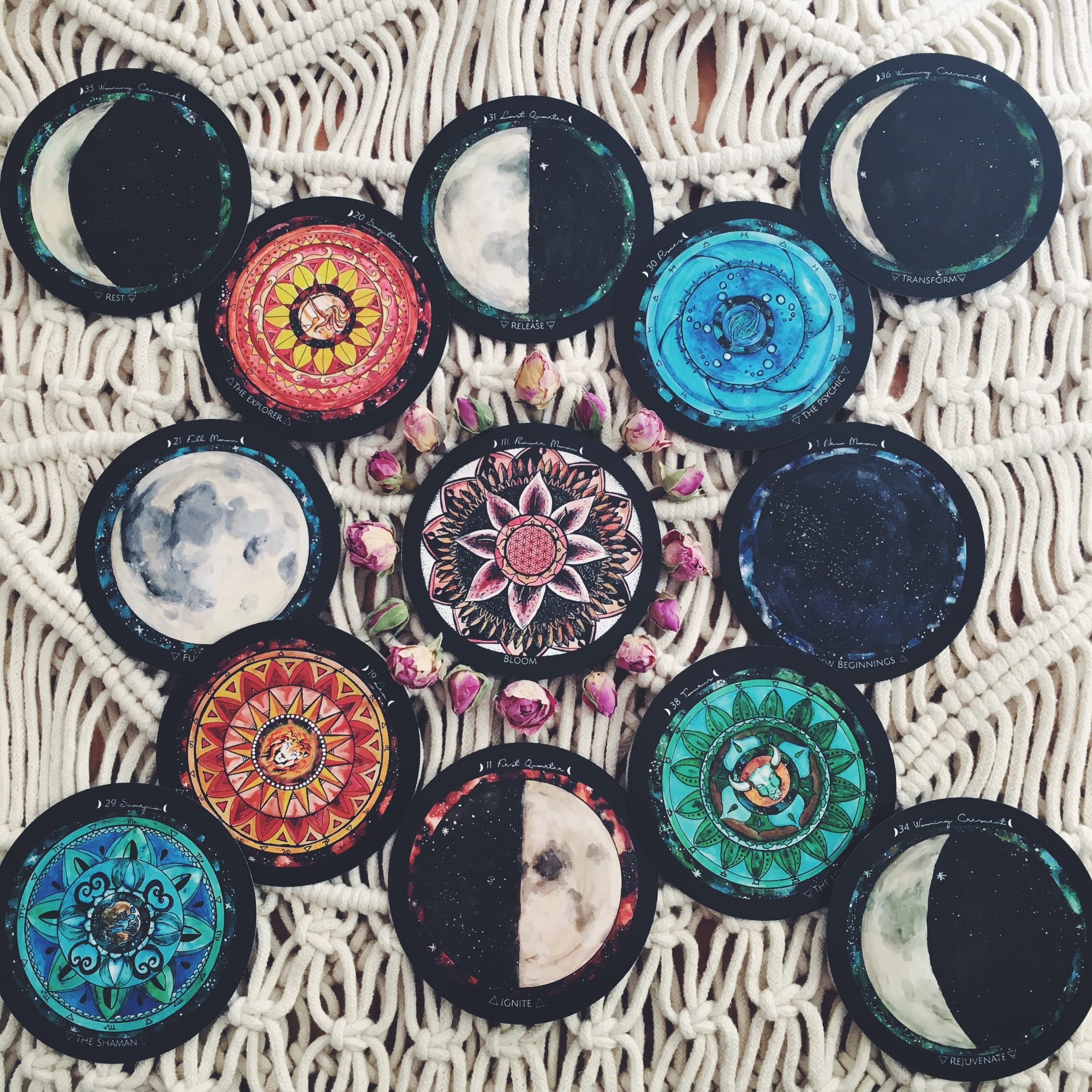 Flower Moon reading - Spirit de la Lune