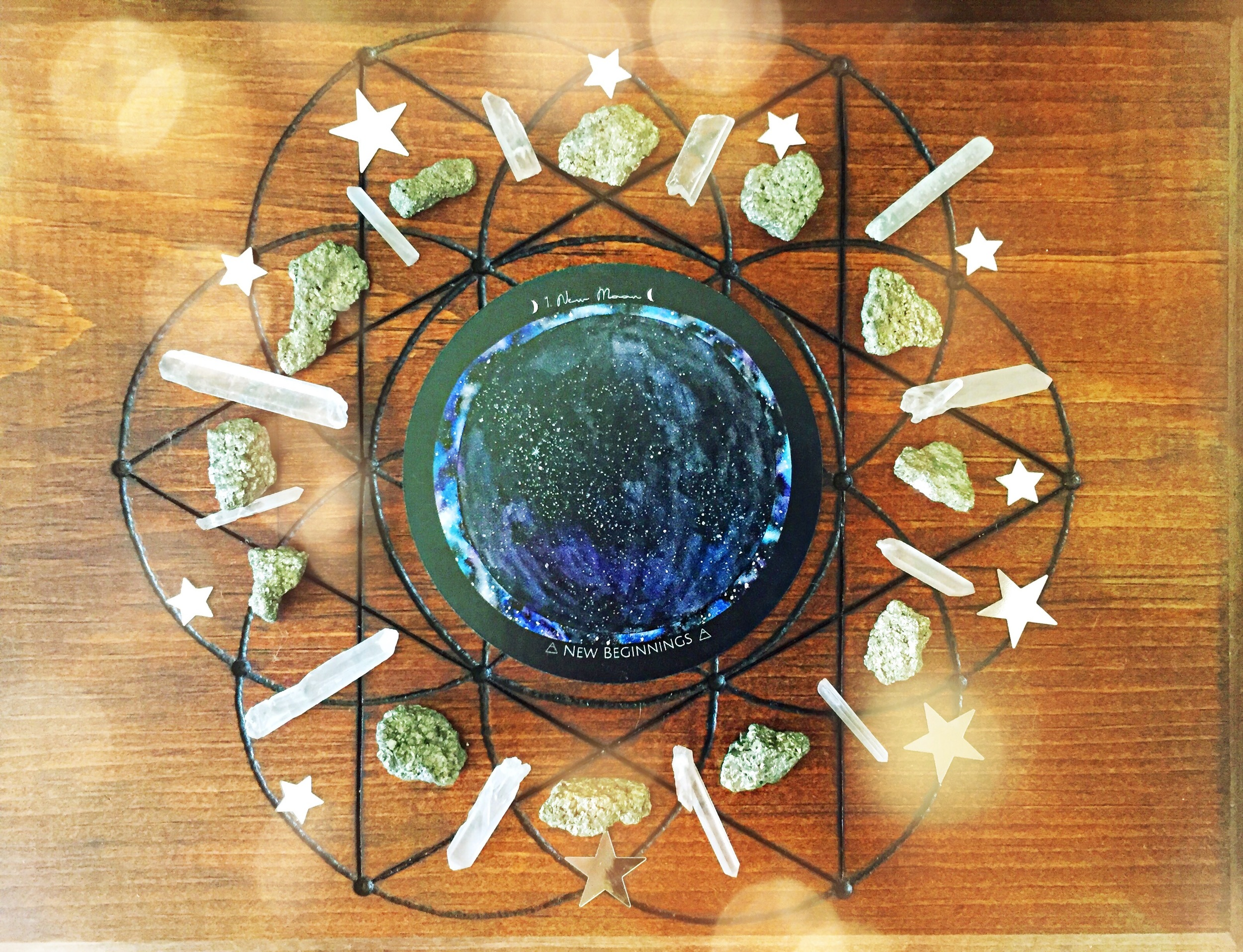 Kari's New Moon grid - Spirit de la Lune