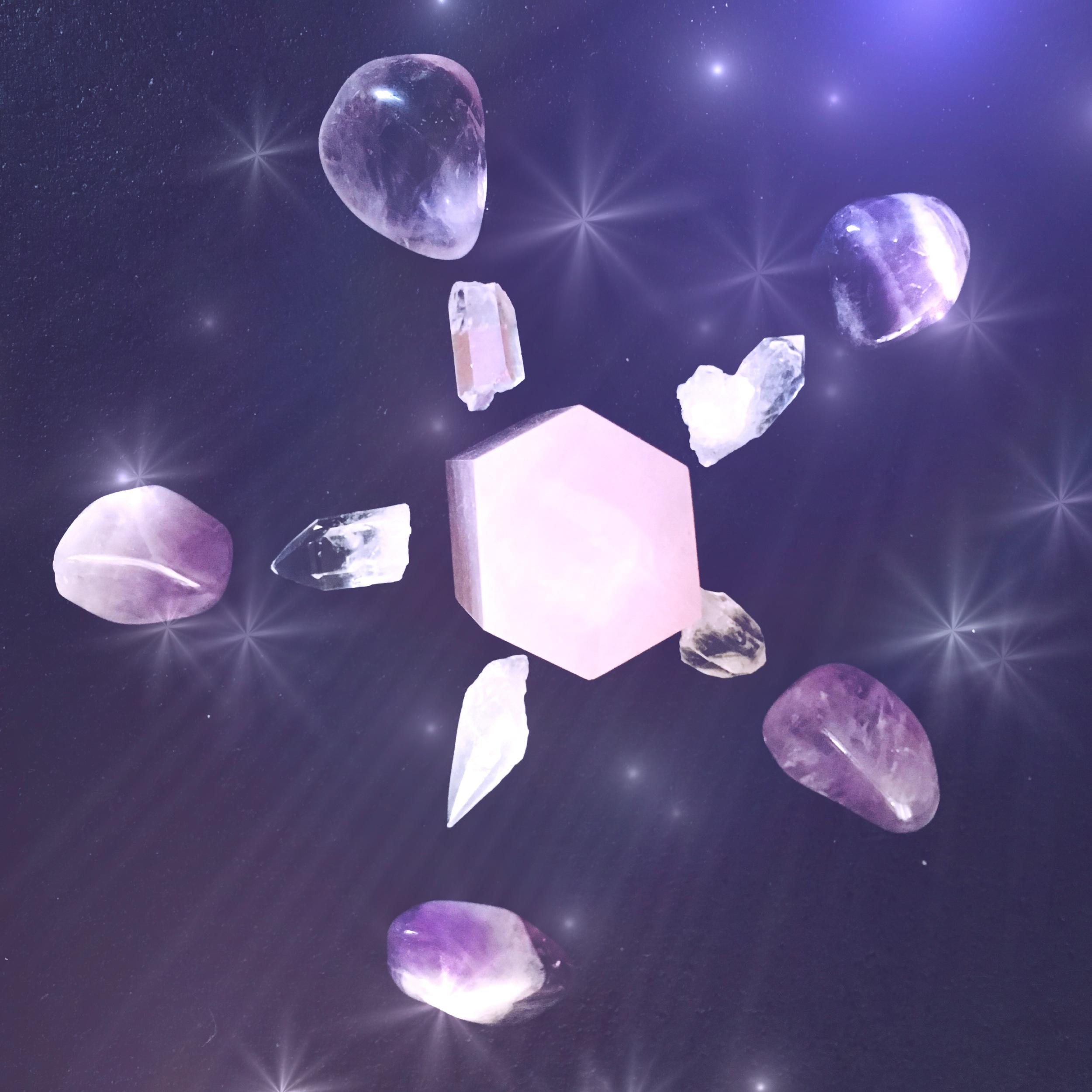 crystal grid - spirit de la lune