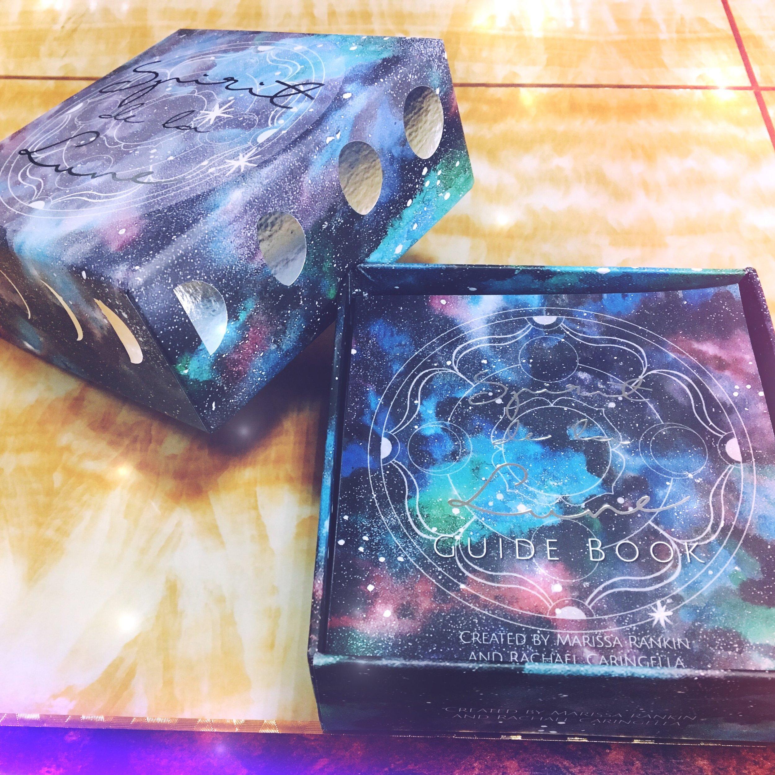 Spirit de la Lune second edition lunar oracle deck