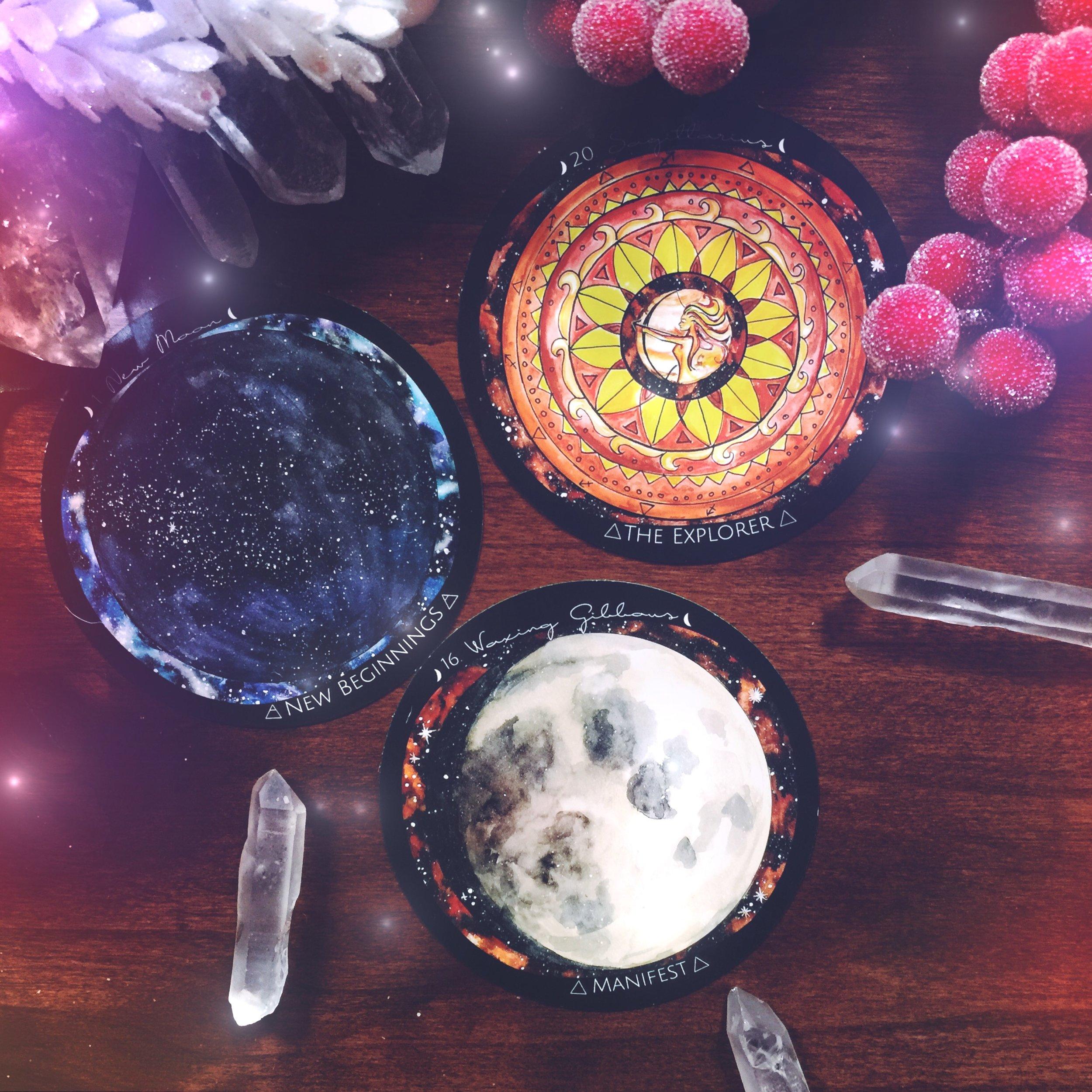 New Moon in Sagittarius | Spirit de la Lune