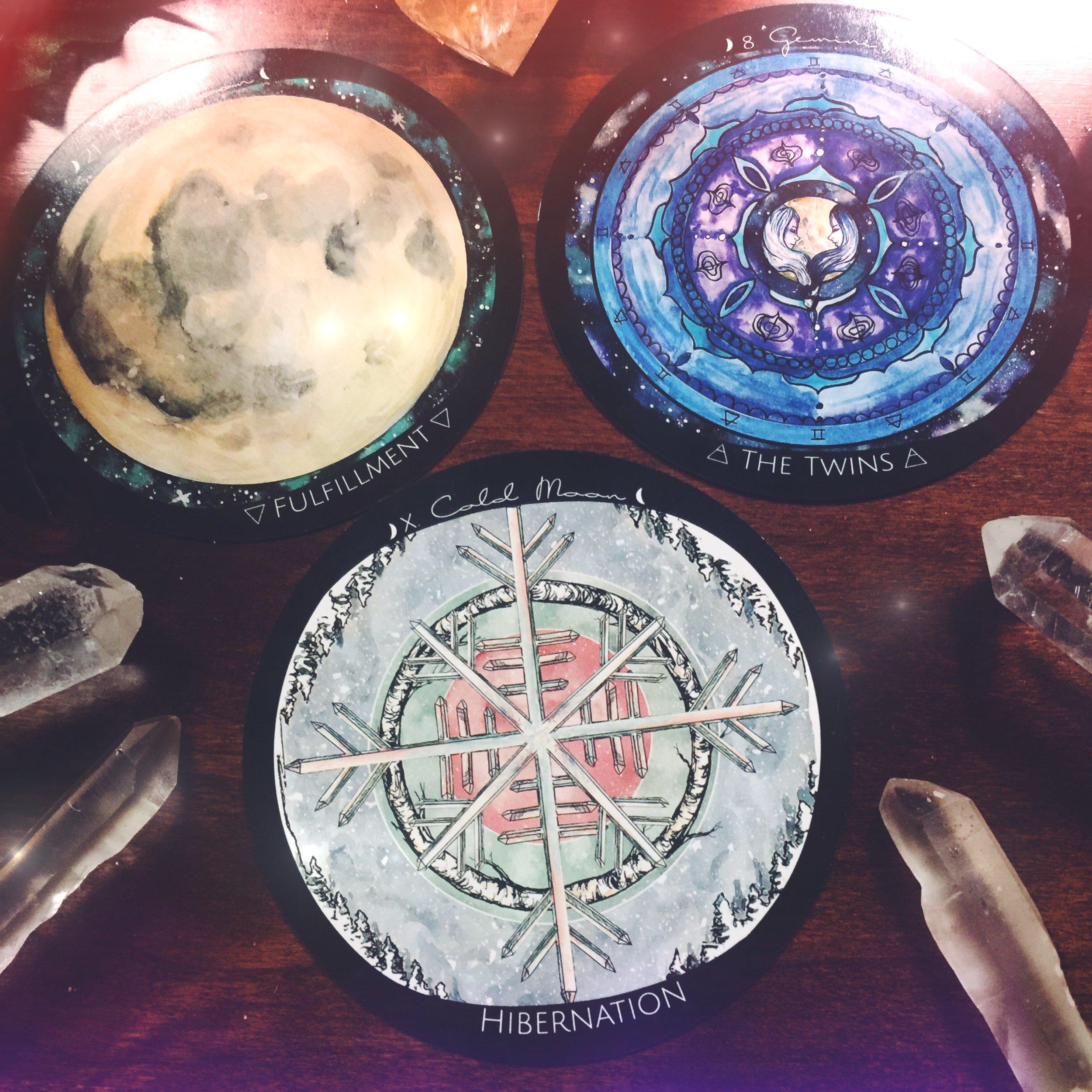 Happy Full Cold Moon December 2016 Spirit de la Lune Energy Reading