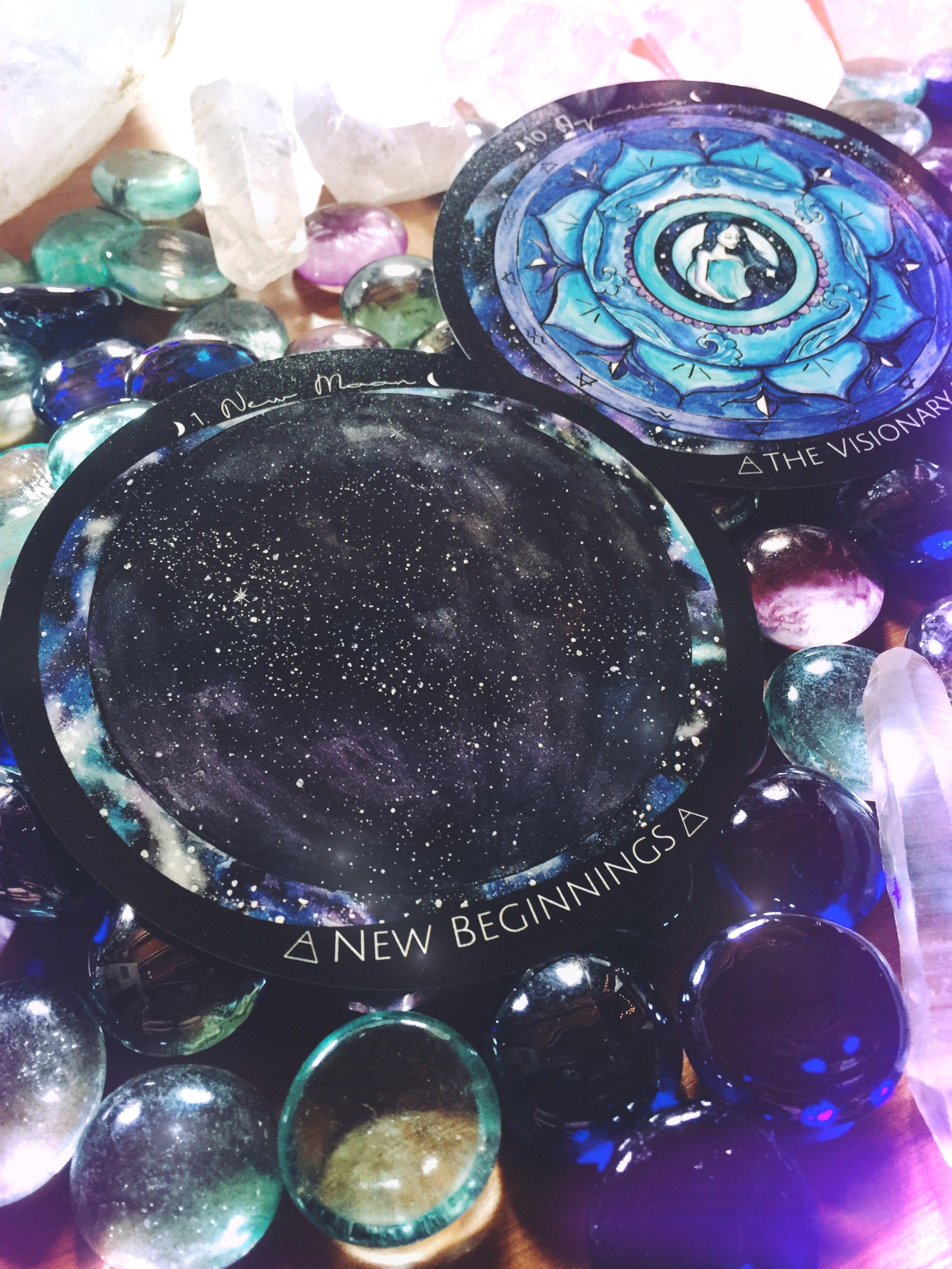 New Moon In Aquarius | Spirit de la lune