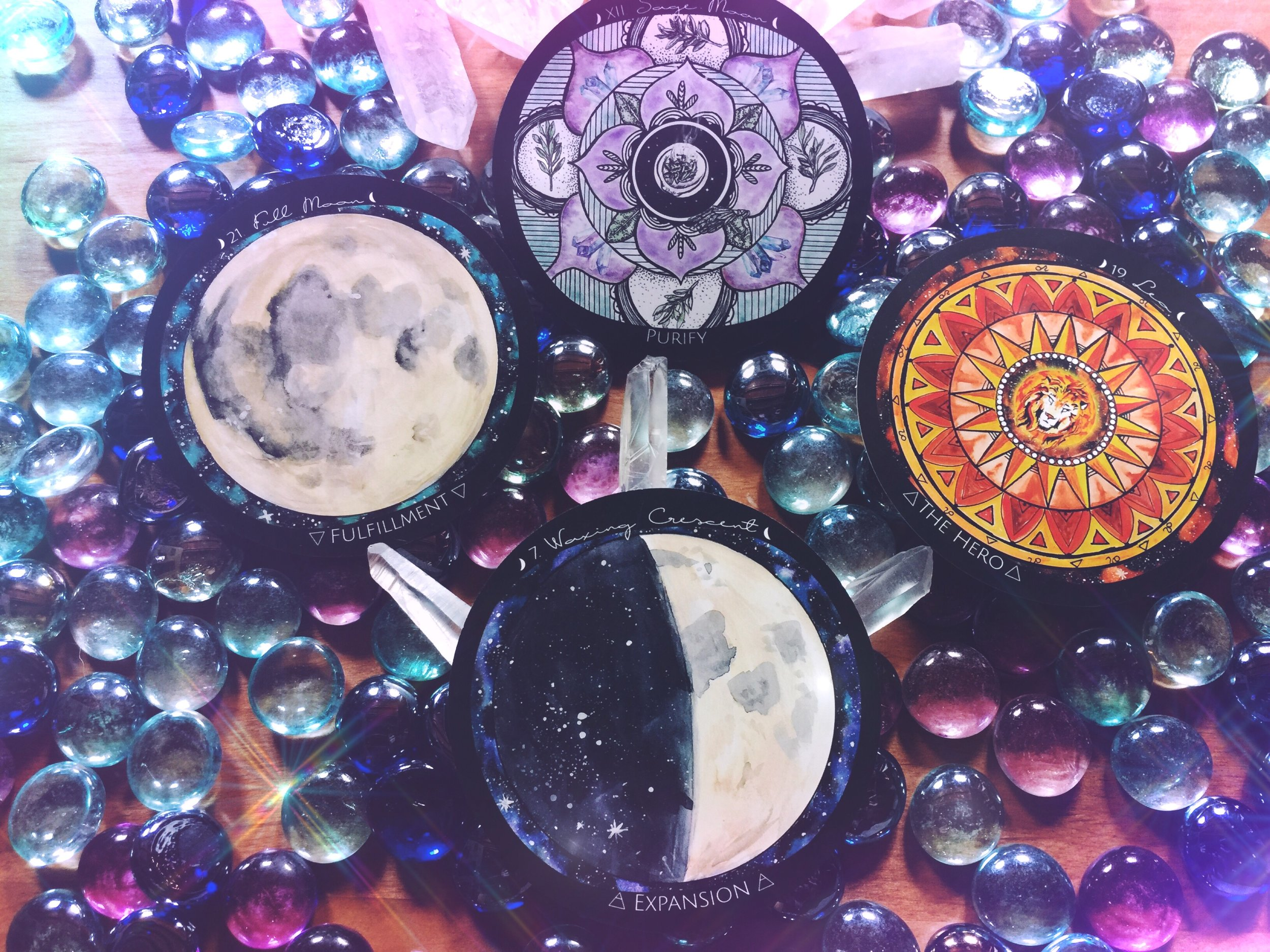 Full Moon in Leo | Spirit de la Lune Oracle Reading