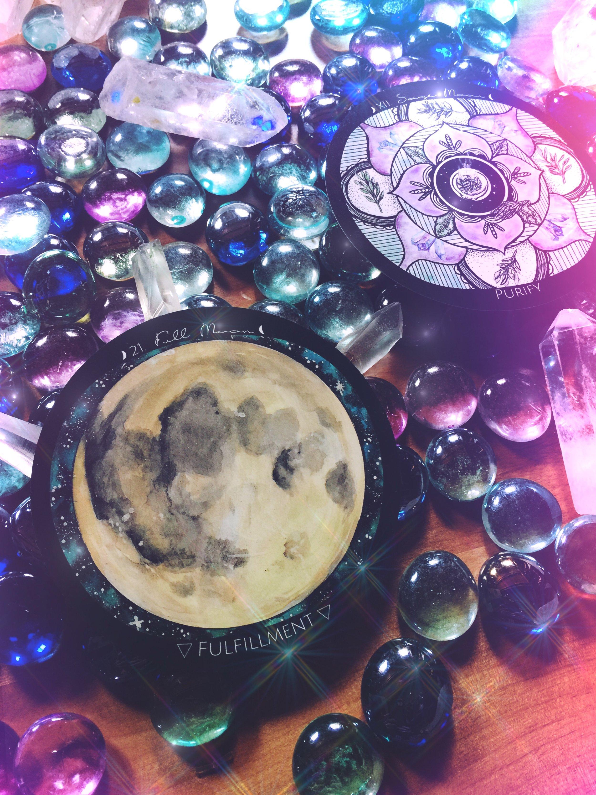 Full Sage Moon | Spirit de la Lune