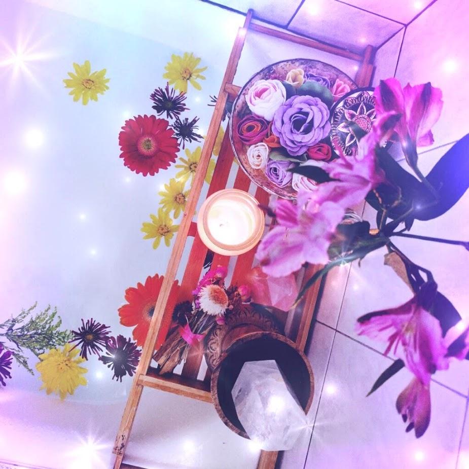 Flower Moon Bath altar.jpg
