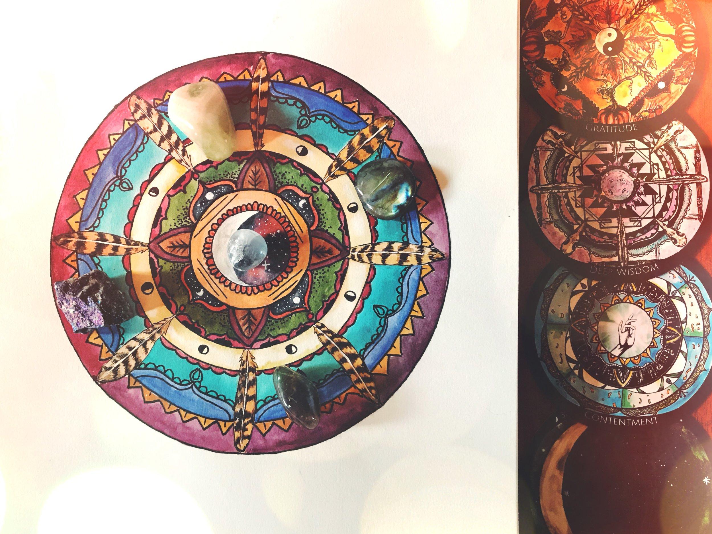 Making Your Own Moondala Mandala | Spirit de la Lune