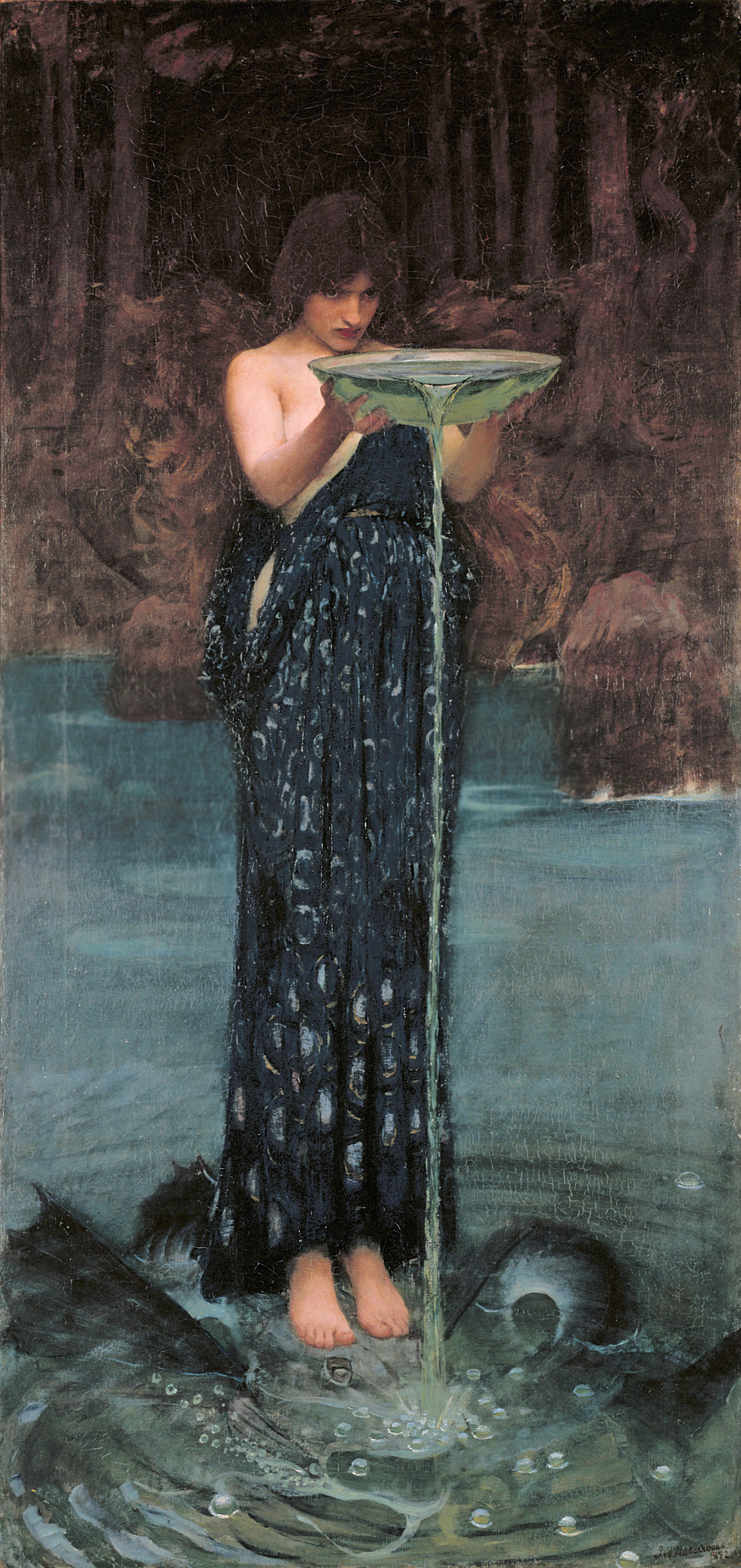 Circe Indiviosa. John William Waterhouse. 1892
