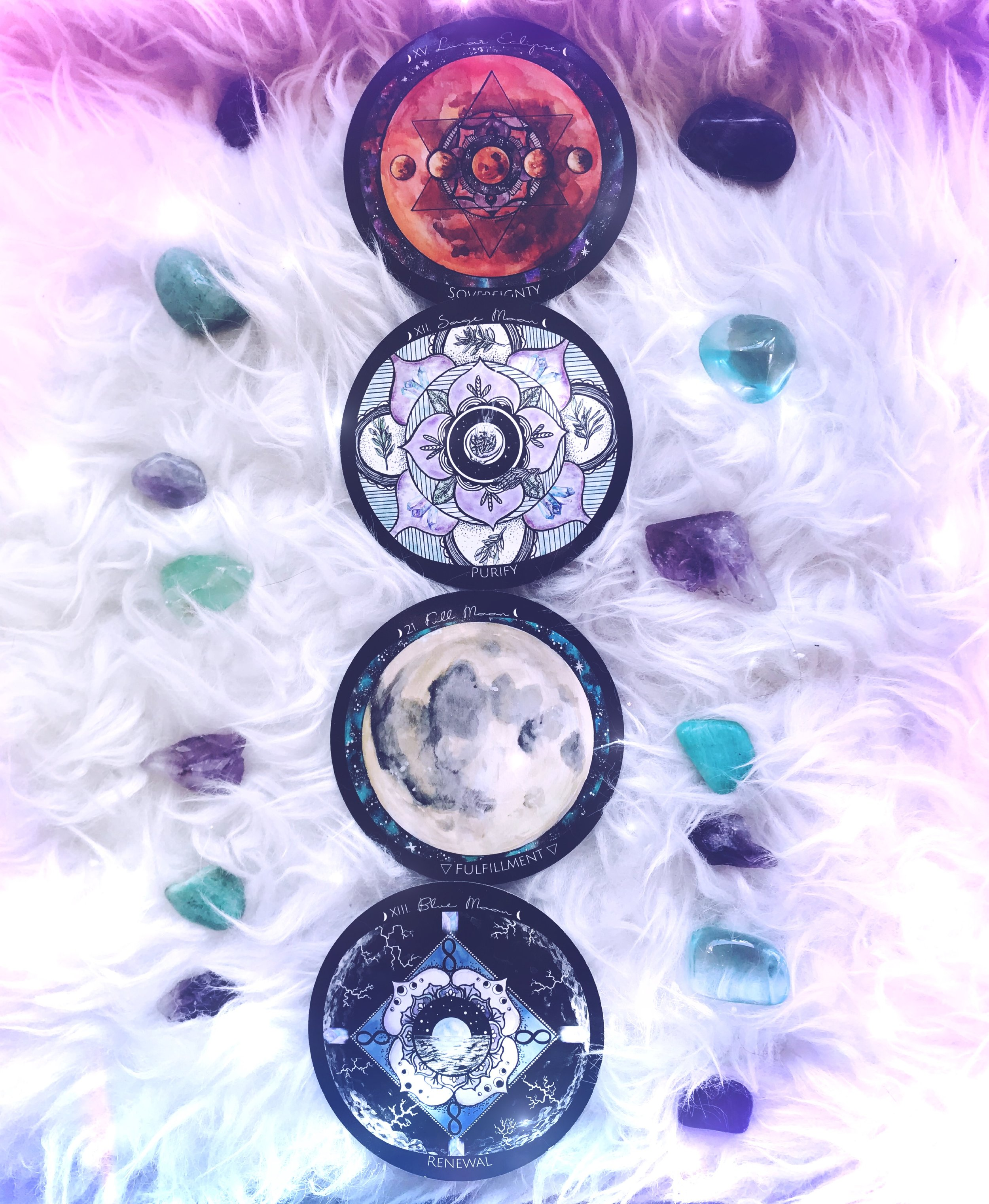 Full Moon Reading Spirit de la Lune