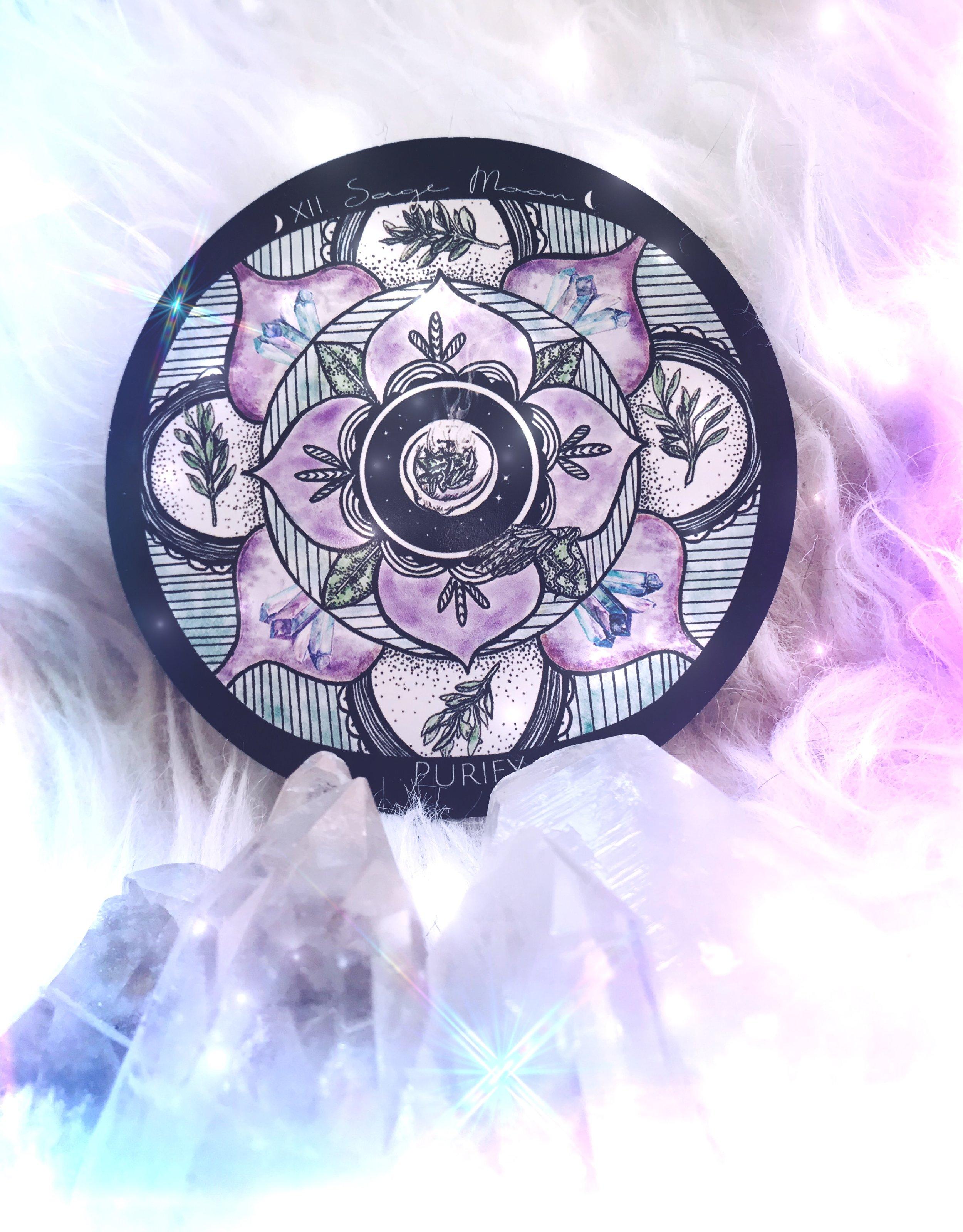 Sage Moon Cord Cutting Ceremony | Spirit de la Lune