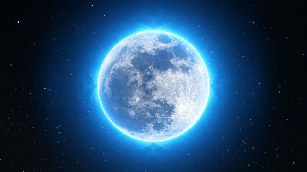 Full Moon | Spirit de la Lune | Pixabay