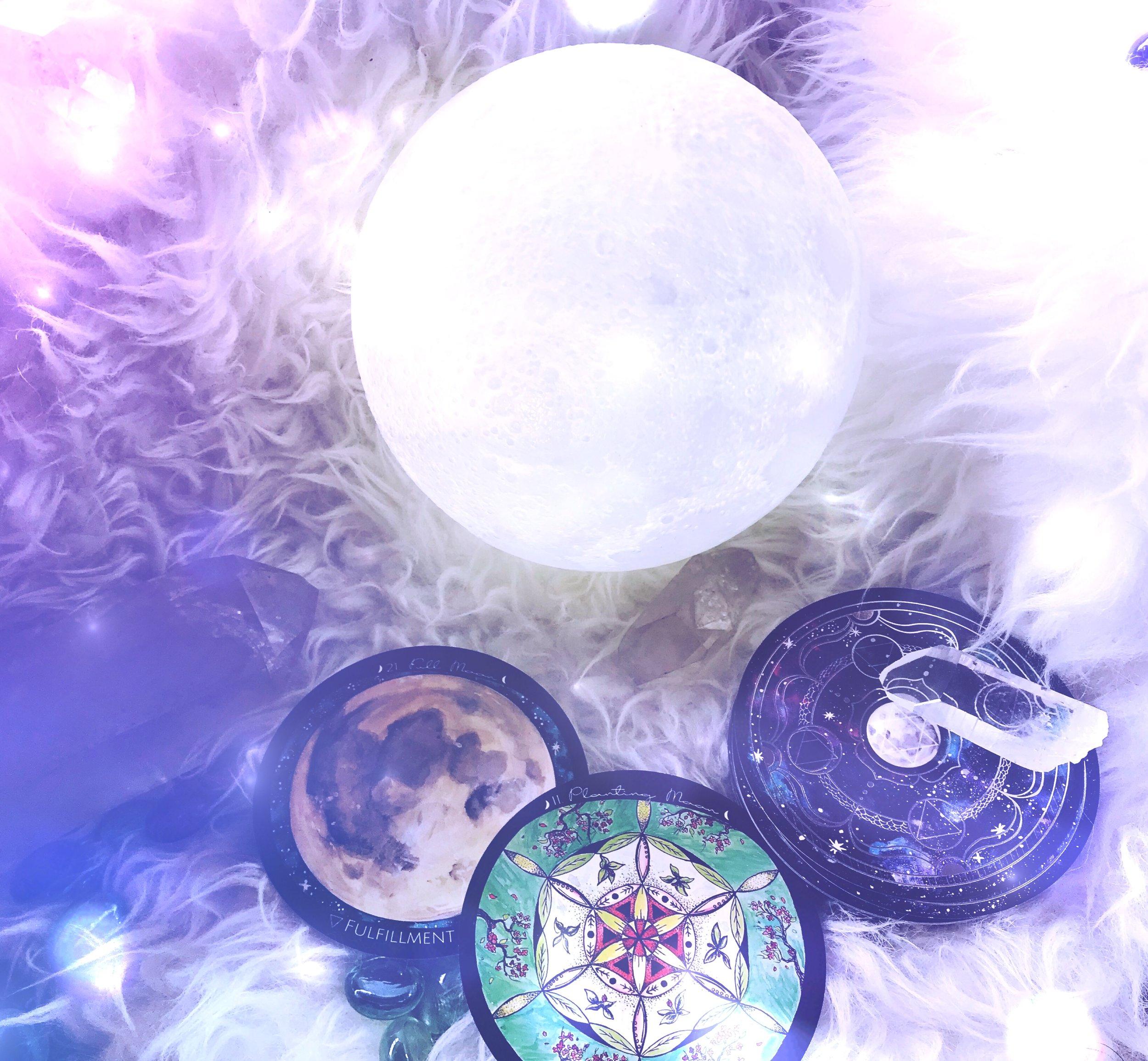 Planting Moon Energy Report - 2018 - Spirit de la lune