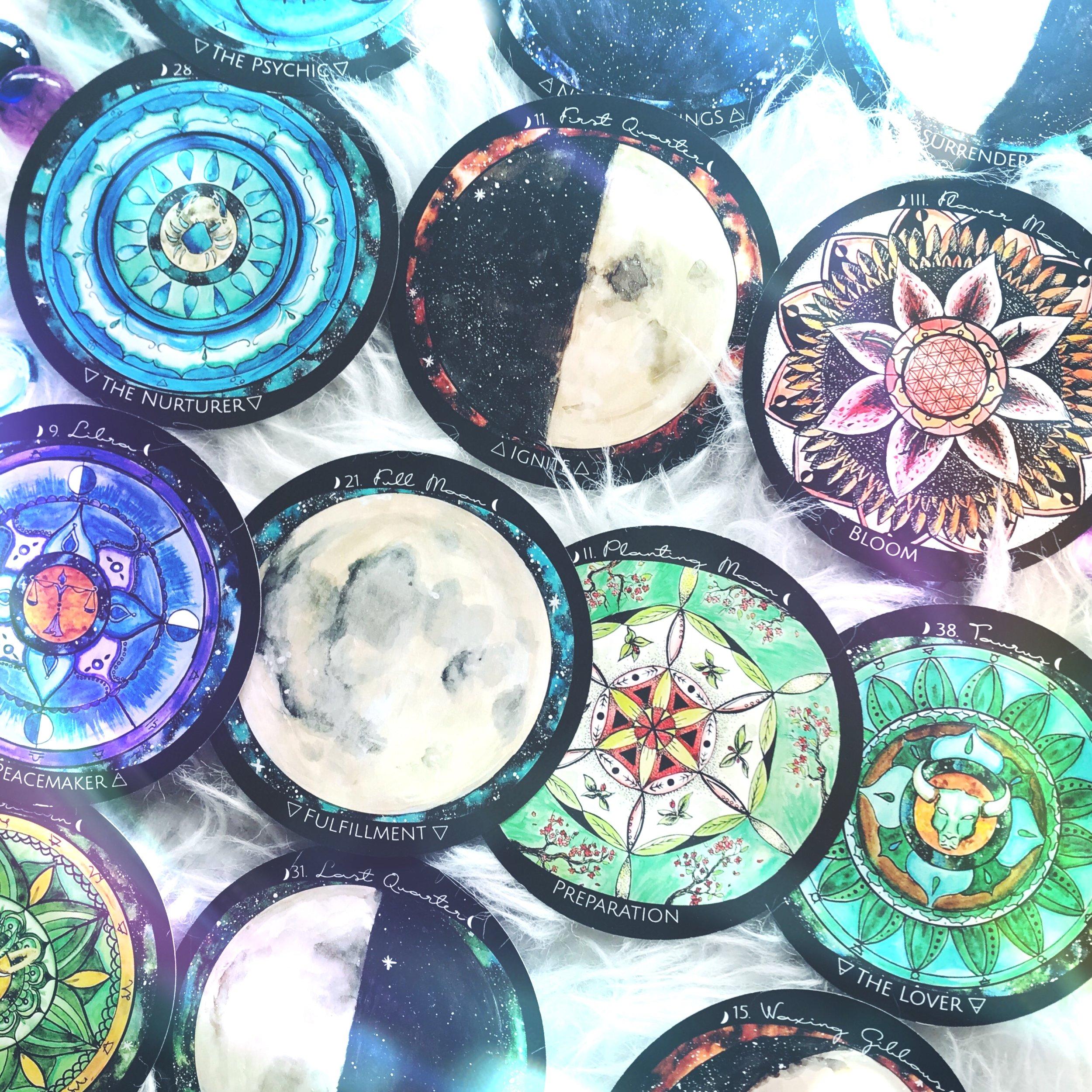 Spirit de la Lune Oracle Cards