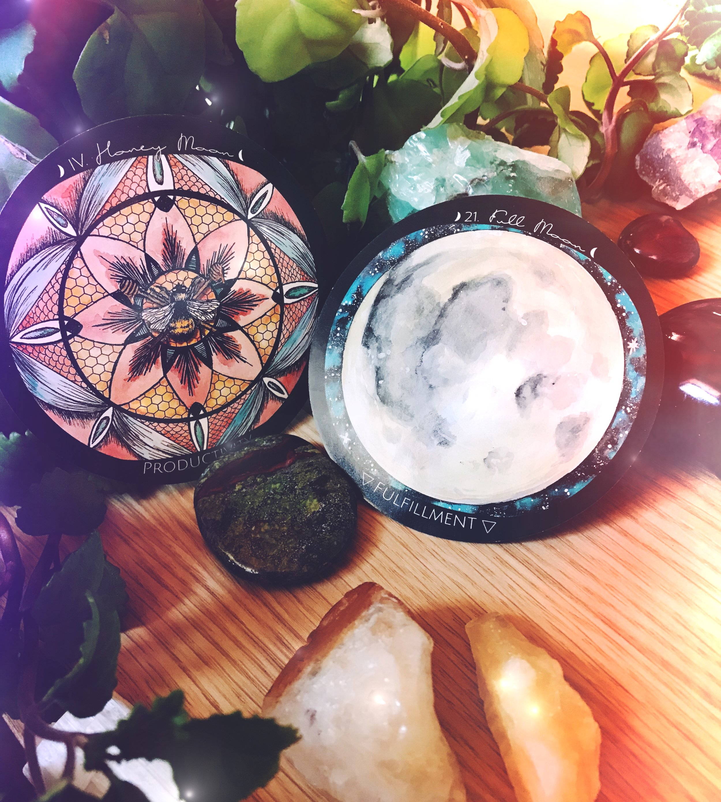 Spirit de la Lune Honey Full Moon Ritual