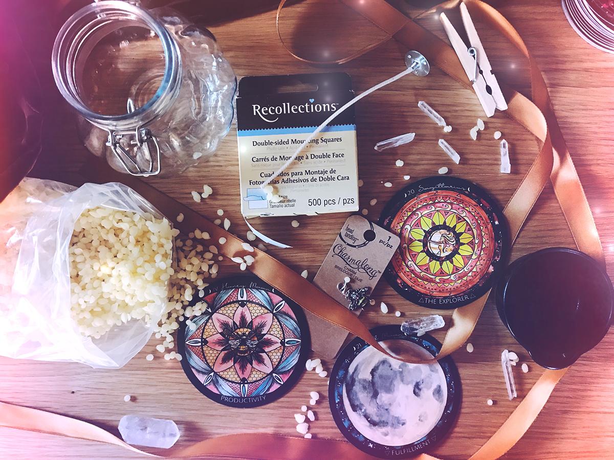 Honey Moon Beeswax Candle Making | Spirit de la Lune