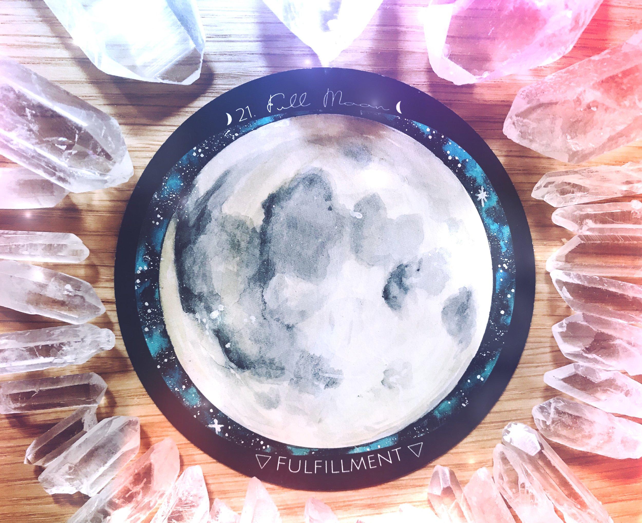 Full Moon | New Moon Energy Reading | Spirit de la Lune
