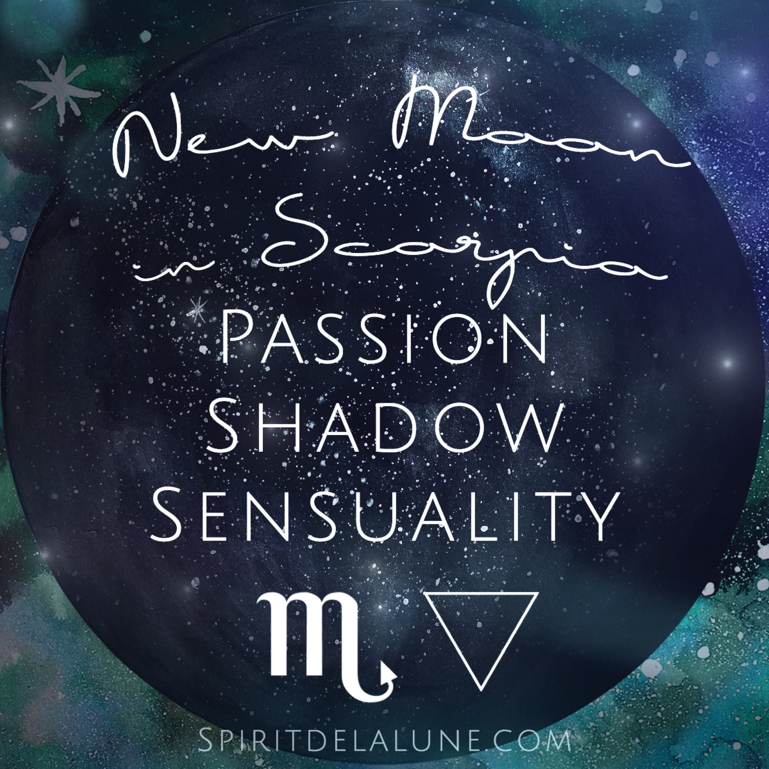 New Moon in Scorpio Energy Reading | Spirit de la Lune