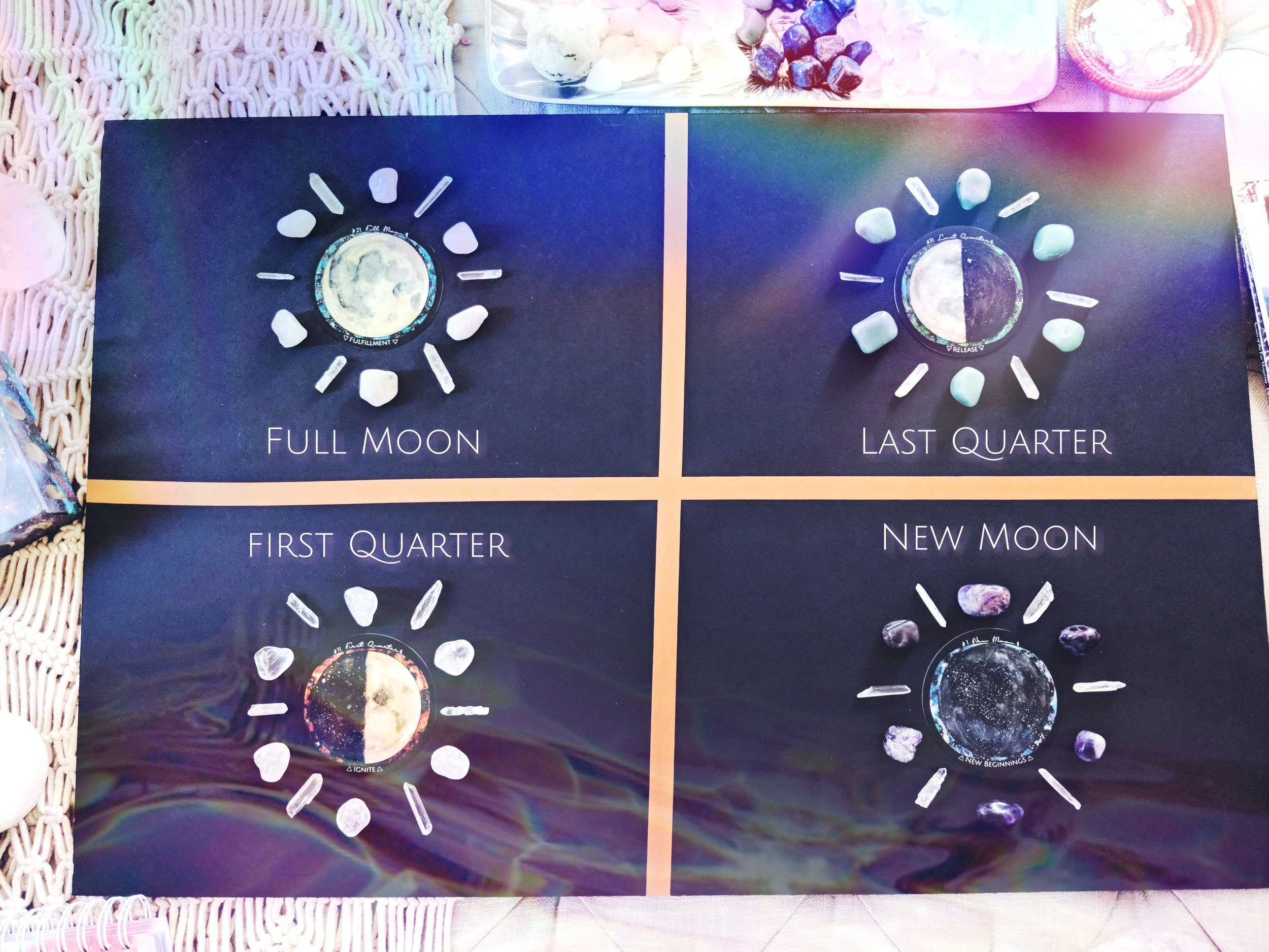 Spirit de la Lune DIY Moon board